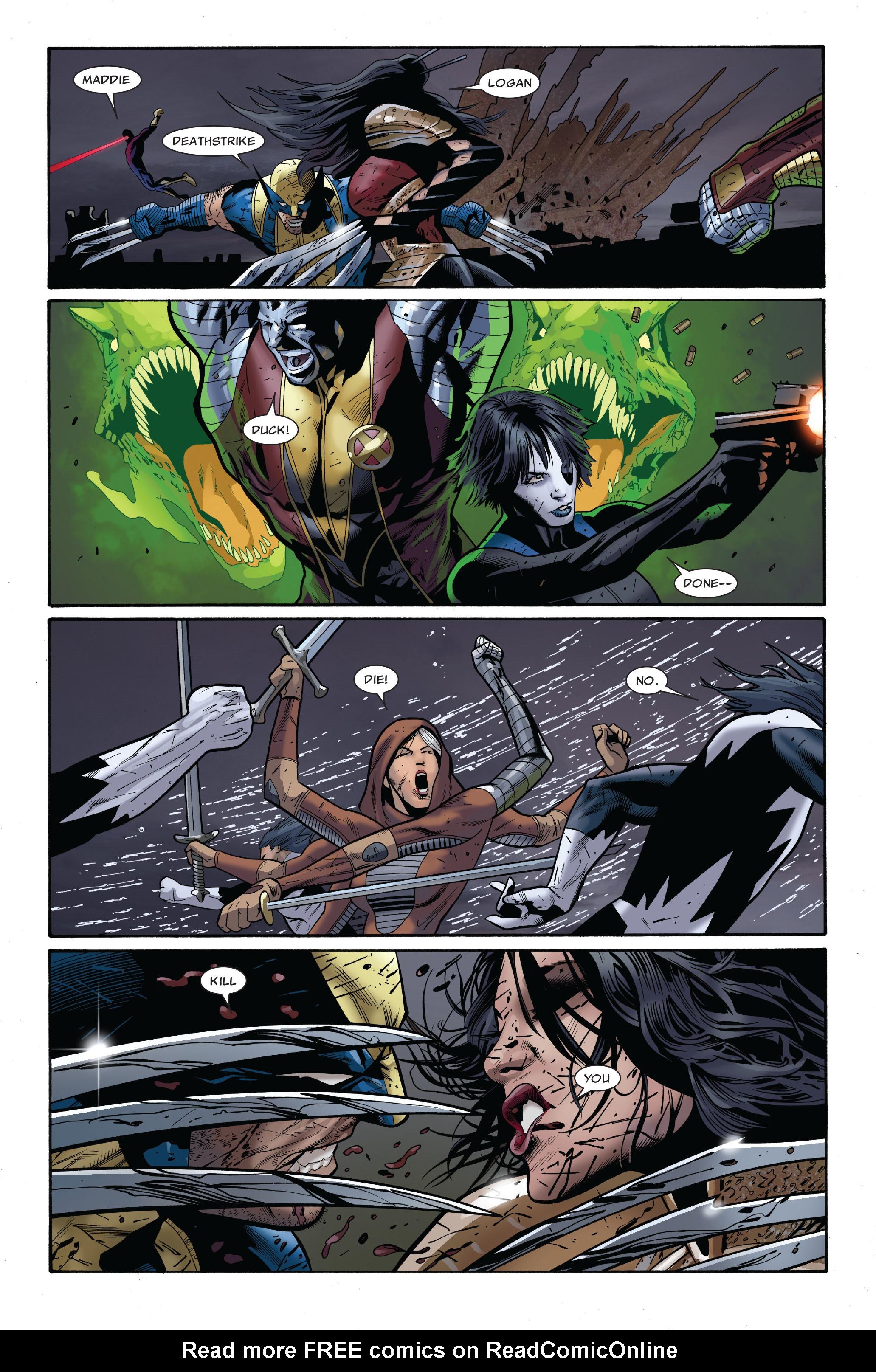 Read online Uncanny X-Men (1963) comic -  Issue #511 - 17
