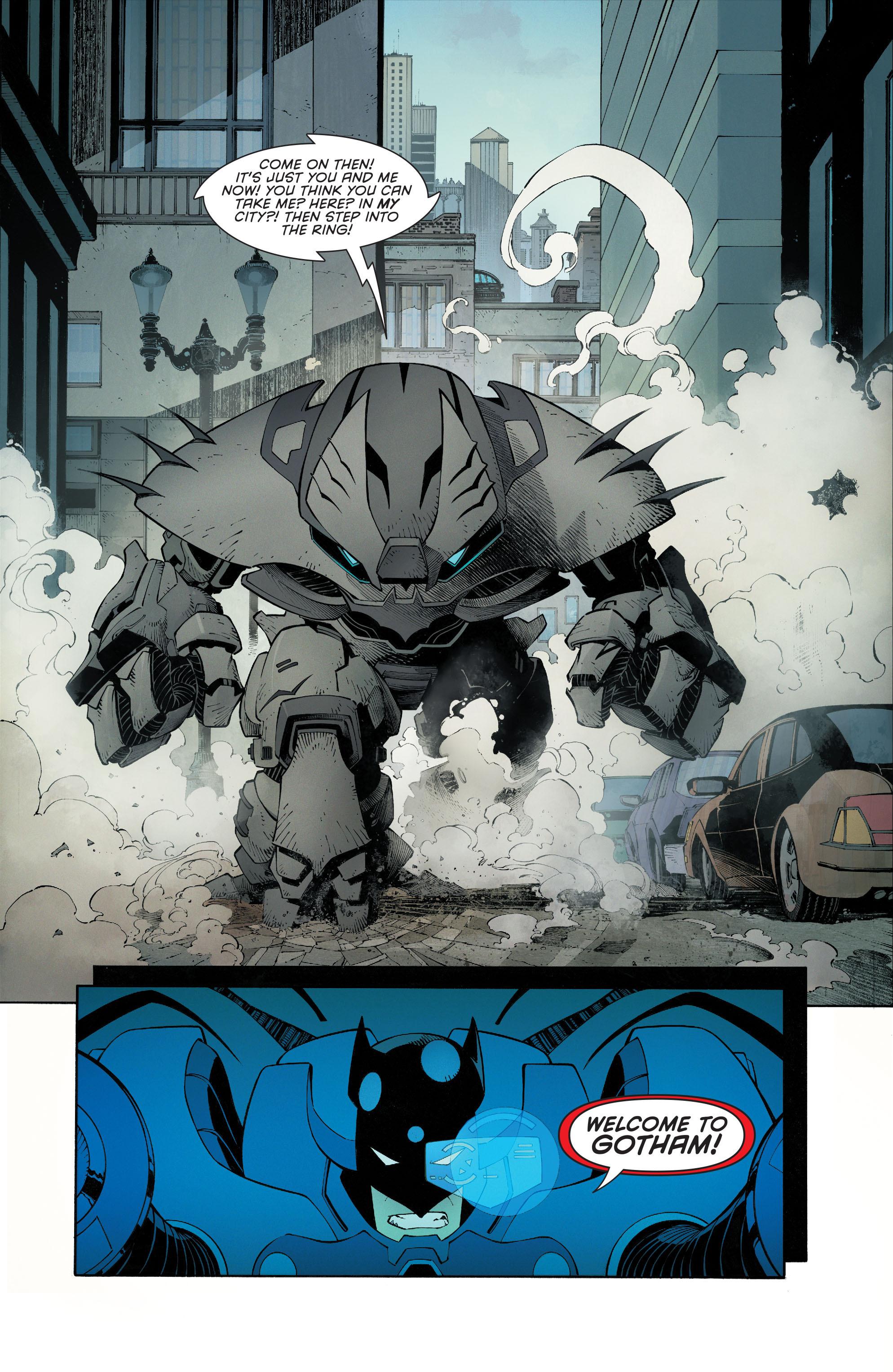 Read online Batman (2011) comic -  Issue # _TPB 7 - 9