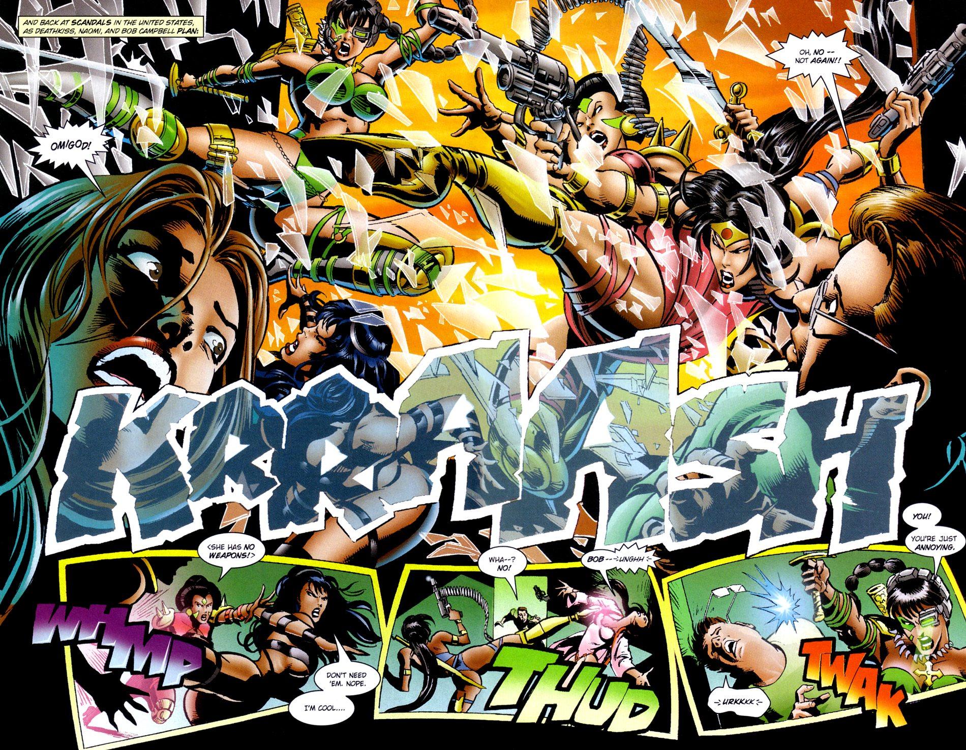 Read online Jade Warriors comic -  Issue #3 - 13