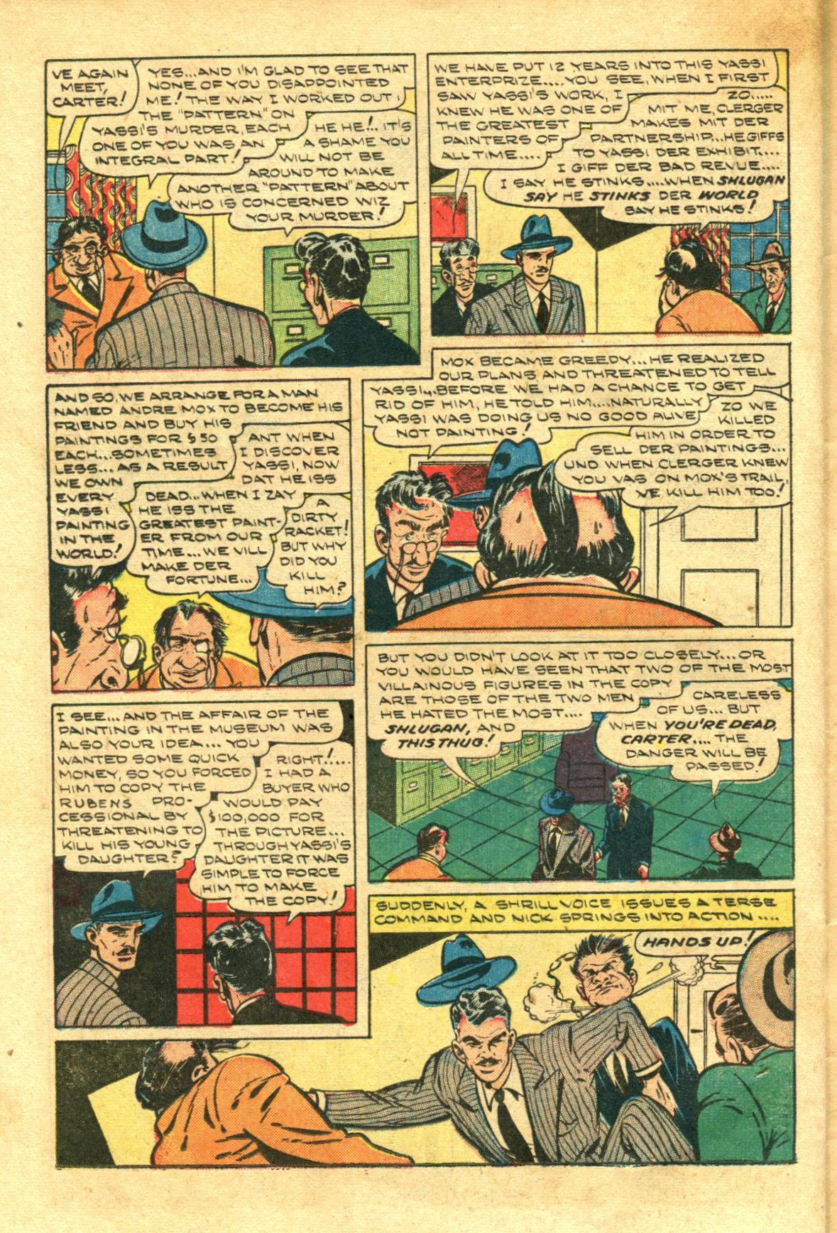 Read online Shadow Comics comic -  Issue #98 - 36