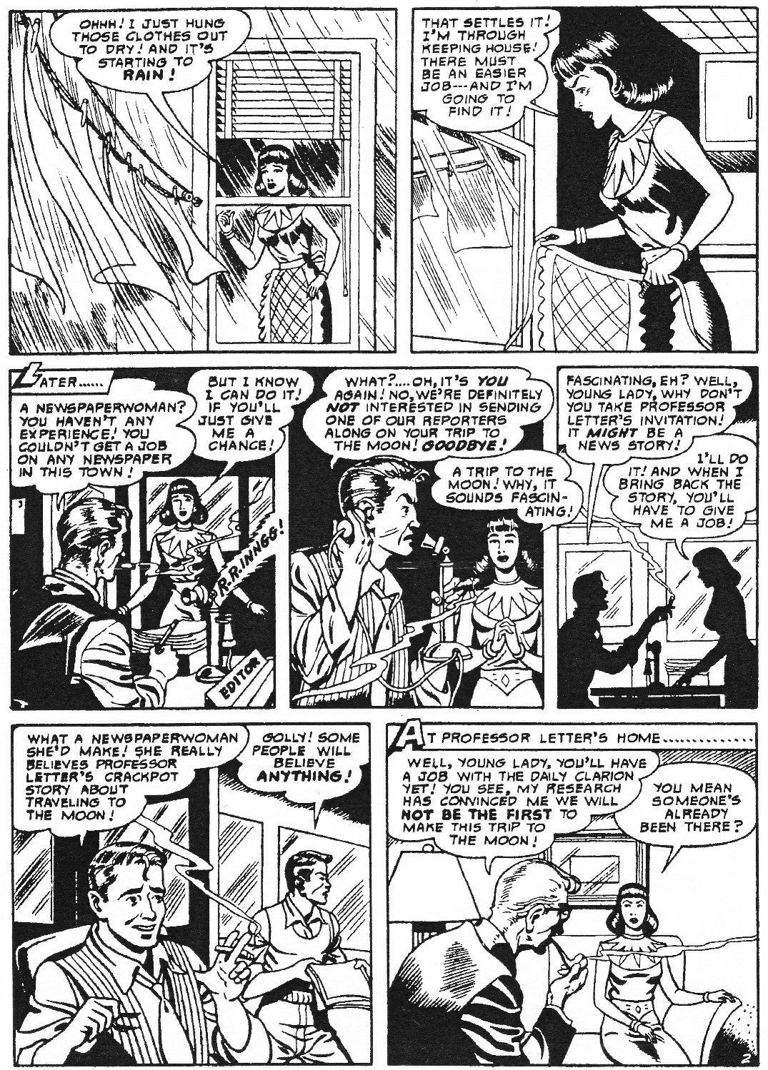 Read online Men of Mystery Comics comic -  Issue #73 - 36