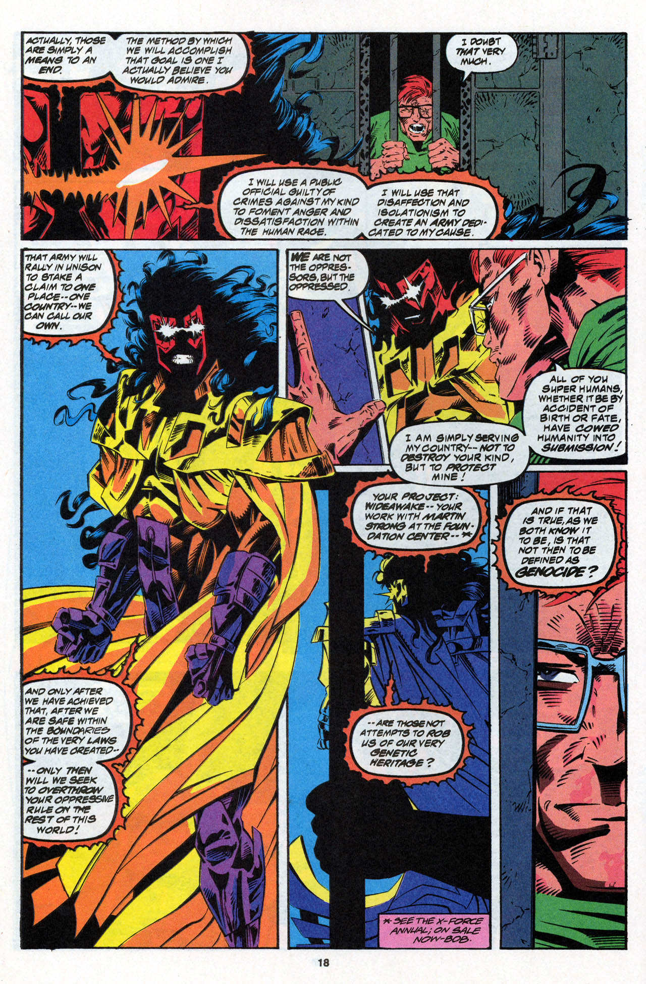 Read online X-Force (1991) comic -  Issue #27 - 19
