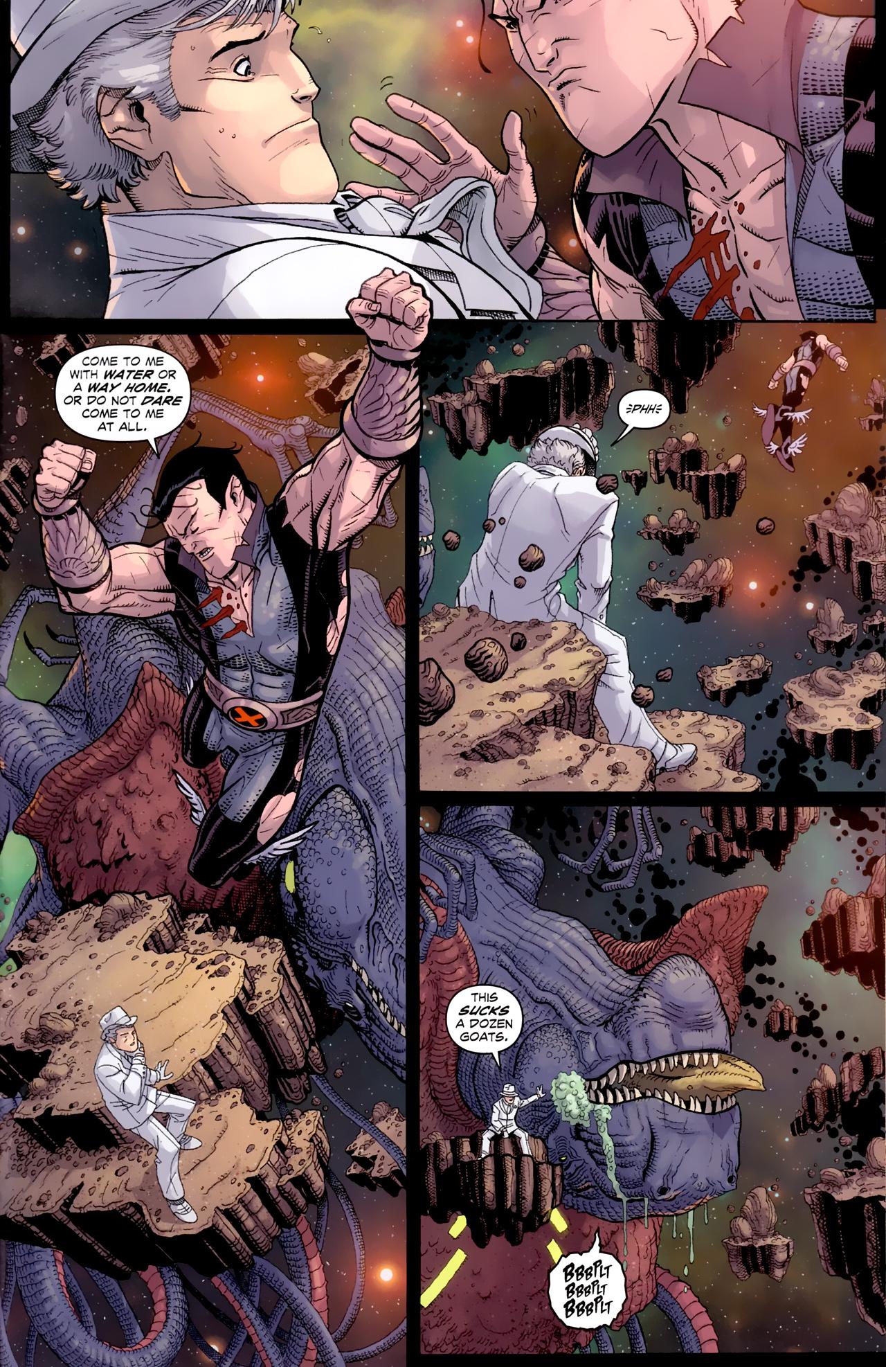 Read online Uncanny X-Men (1963) comic -  Issue # _Annual 3 (2011) - 30
