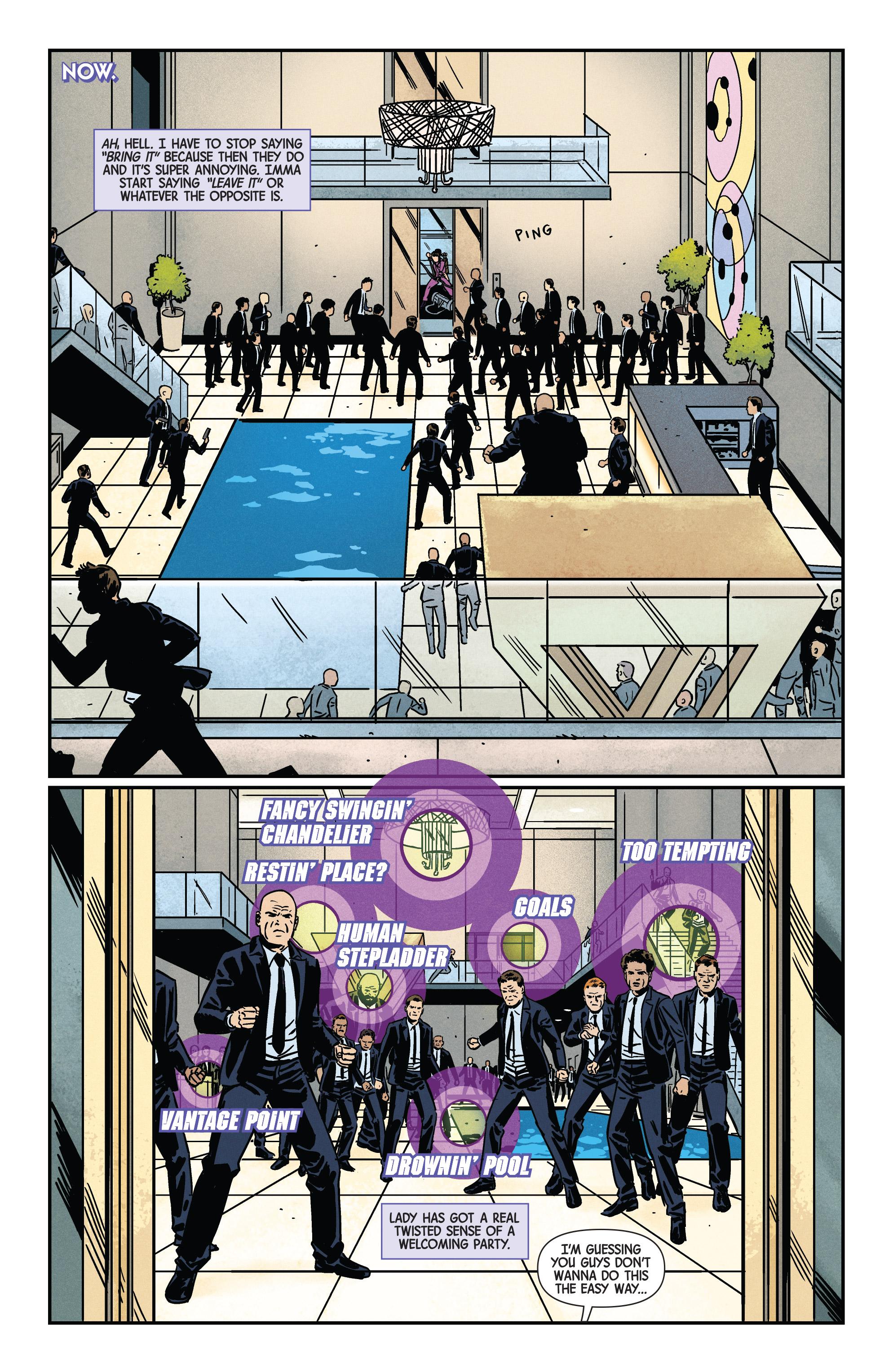 Read online Hawkeye (2016) comic -  Issue #7 - 14