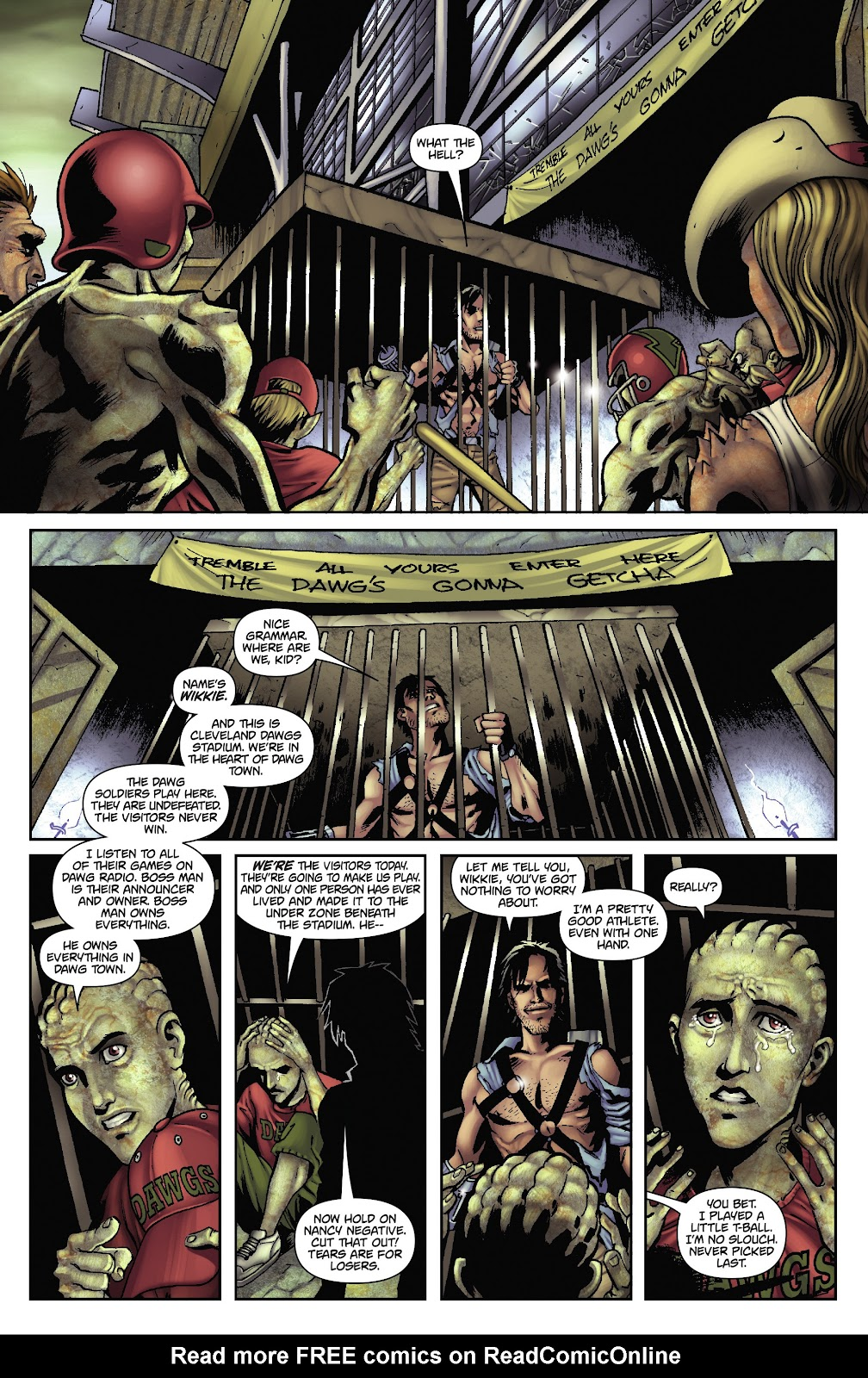 Army of Darkness: The Long Road Home issue TPB - Page 46