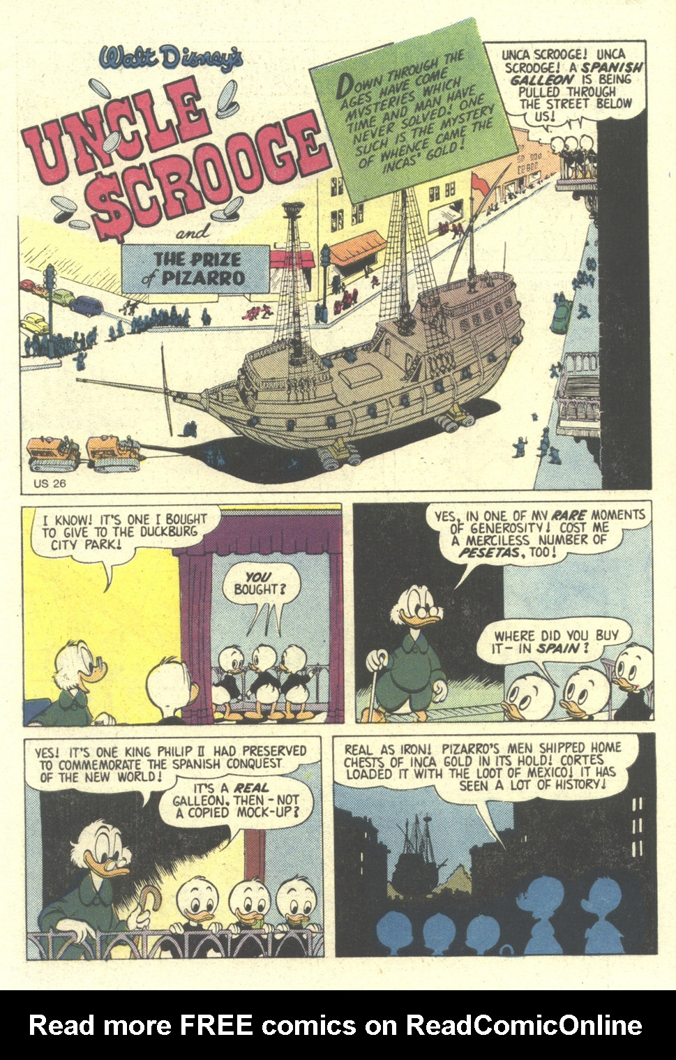 Read online Uncle Scrooge (1953) comic -  Issue #211 - 3