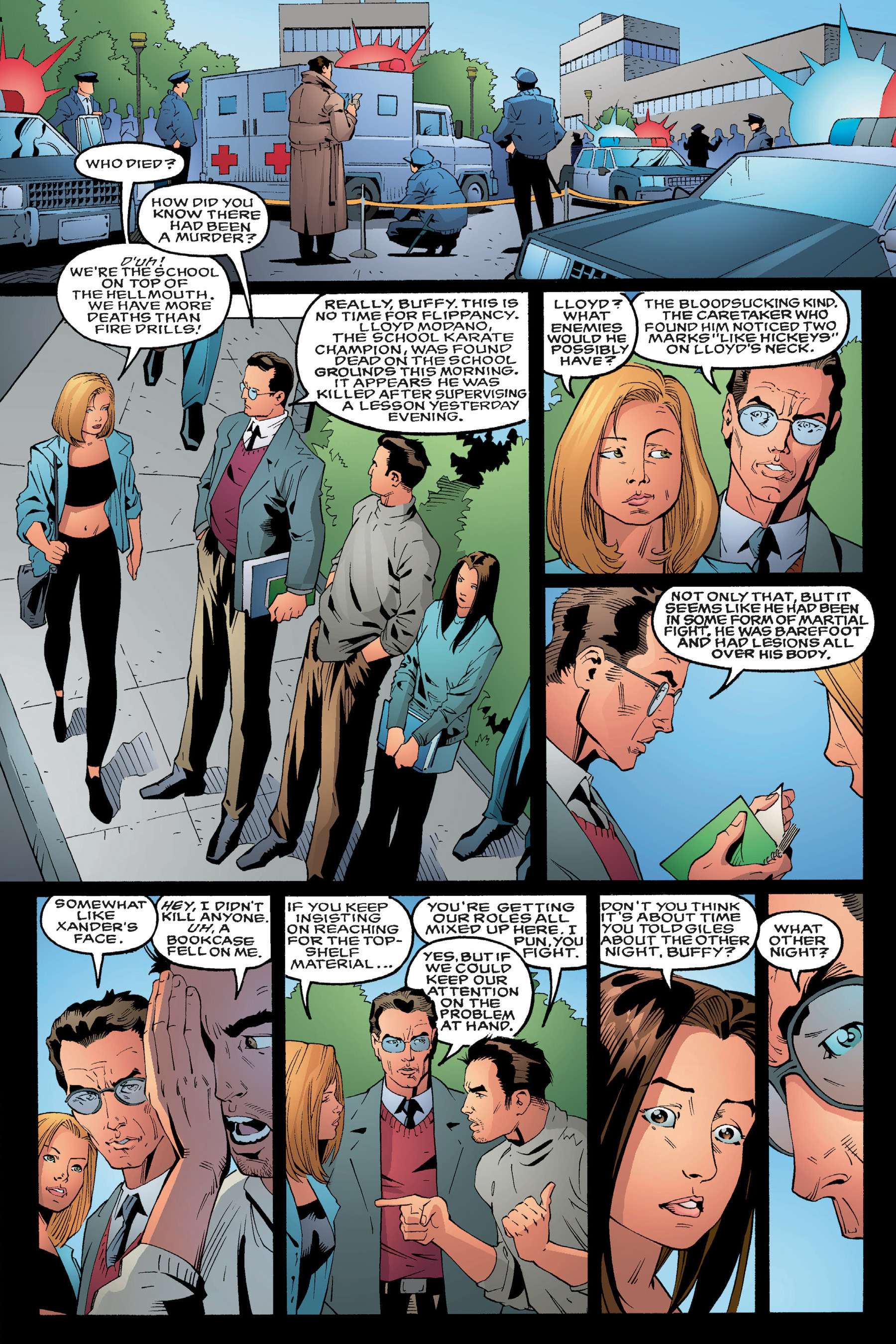 Read online Buffy the Vampire Slayer: Omnibus comic -  Issue # TPB 3 - 22