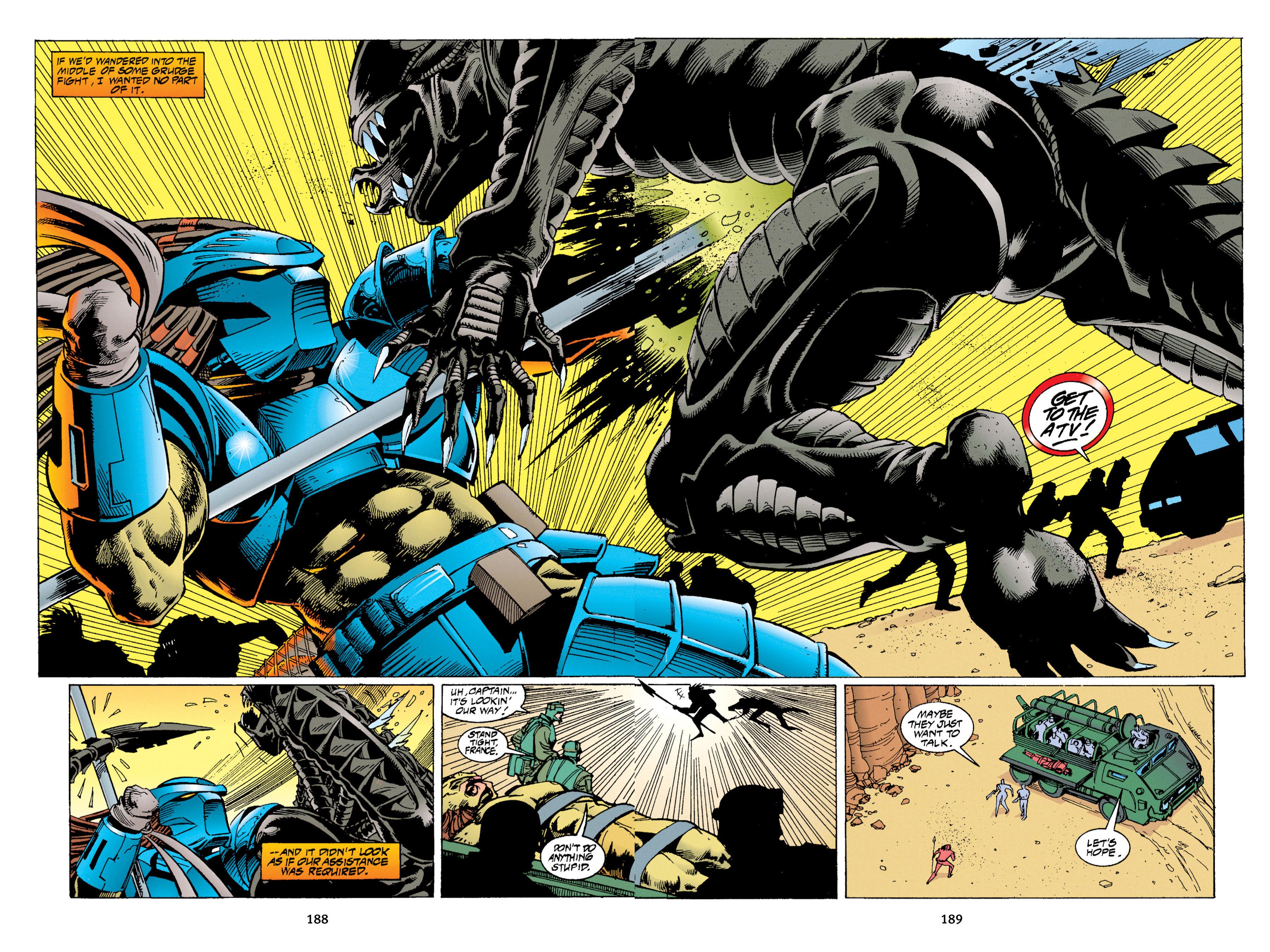 Read online Aliens vs. Predator Omnibus comic -  Issue # _TPB 1 Part 2 - 86