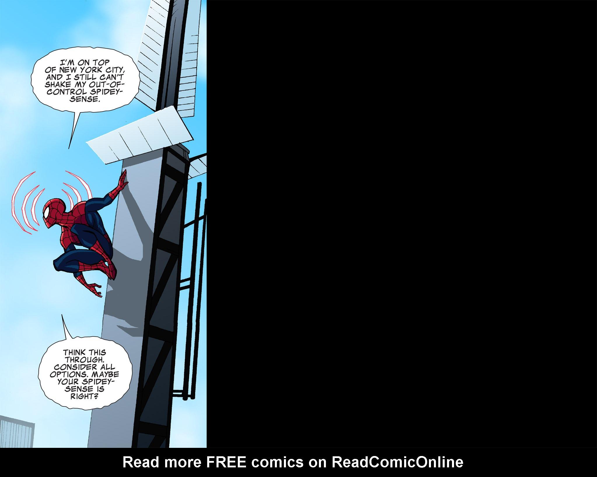 Read online Ultimate Spider-Man (Infinite Comics) (2015) comic -  Issue #1 - 31