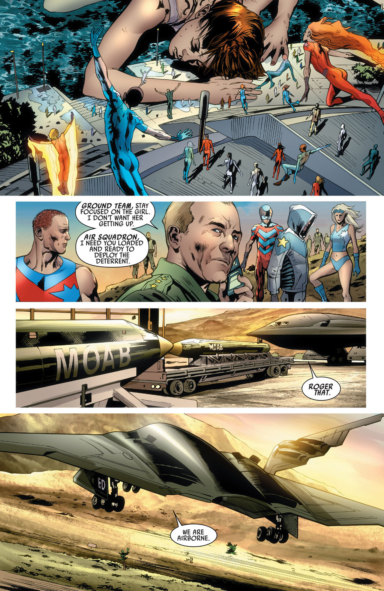 Read online America's Got Powers comic -  Issue #5 - 14
