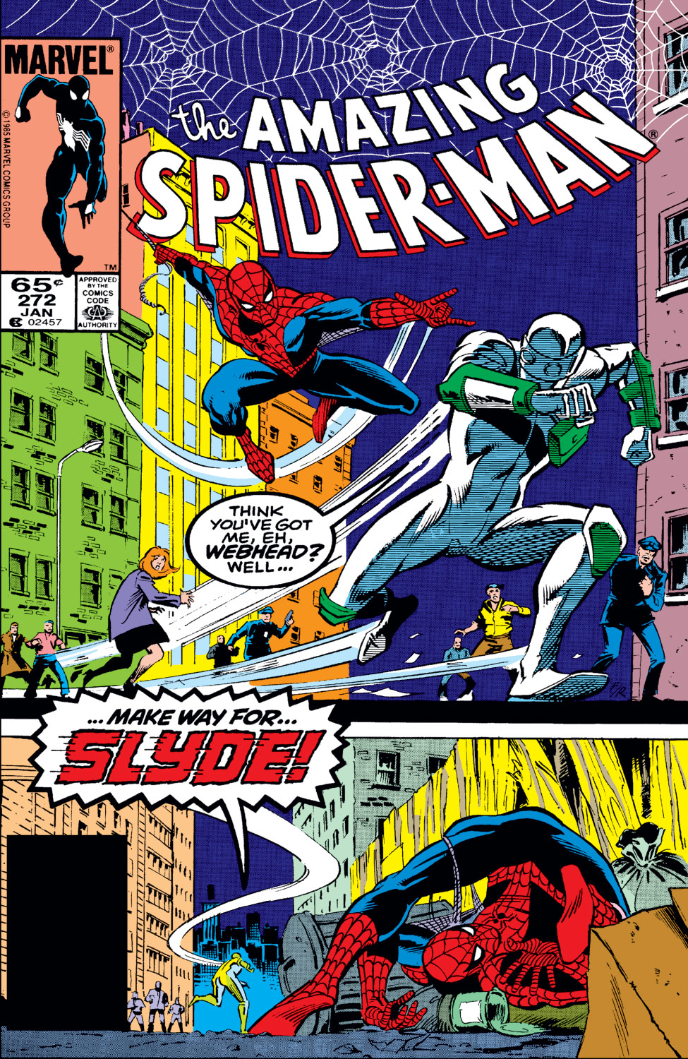 The Amazing Spider-Man (1963) 272 Page 0