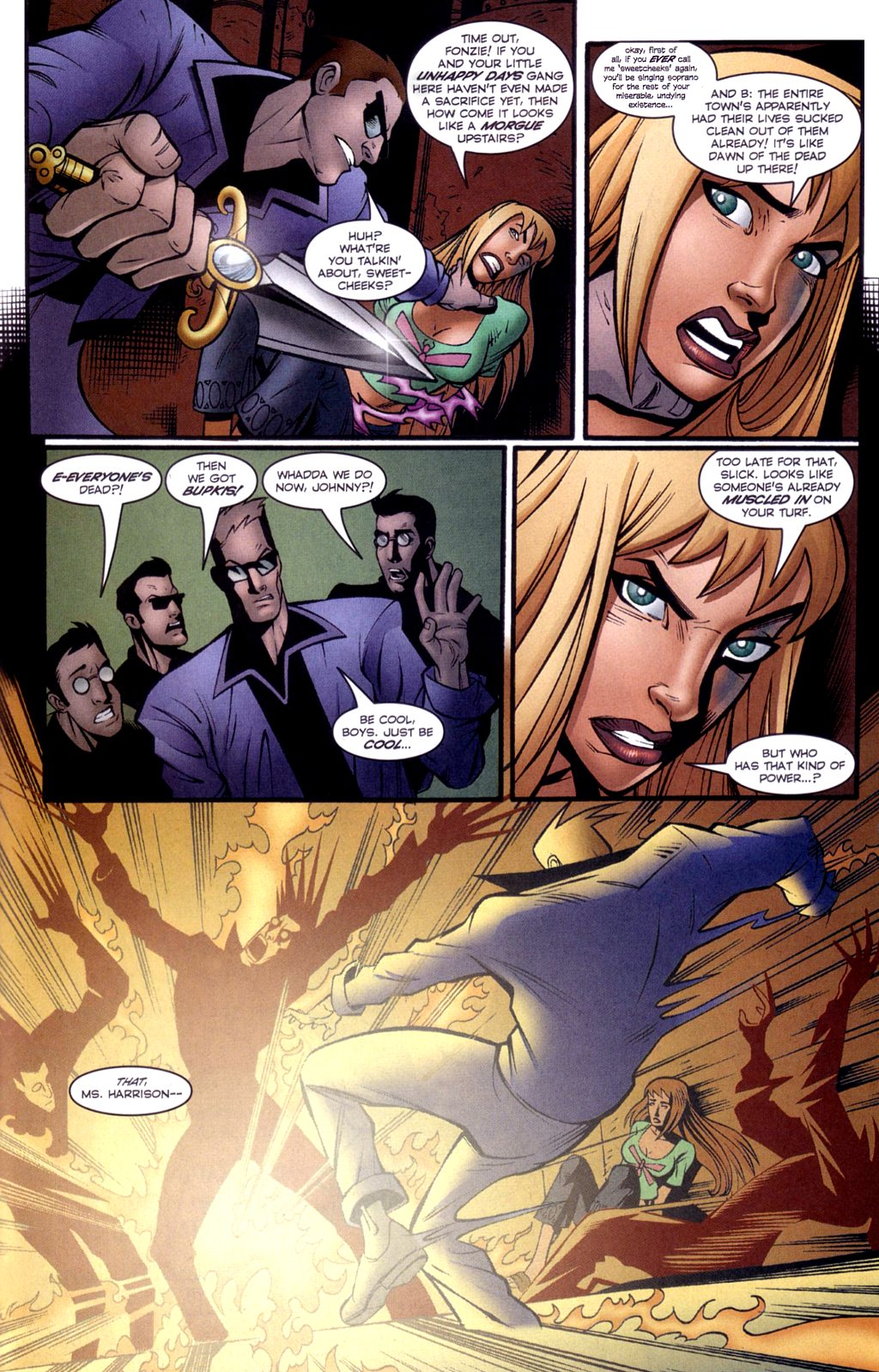 Read online Jezebelle comic -  Issue #2 - 22
