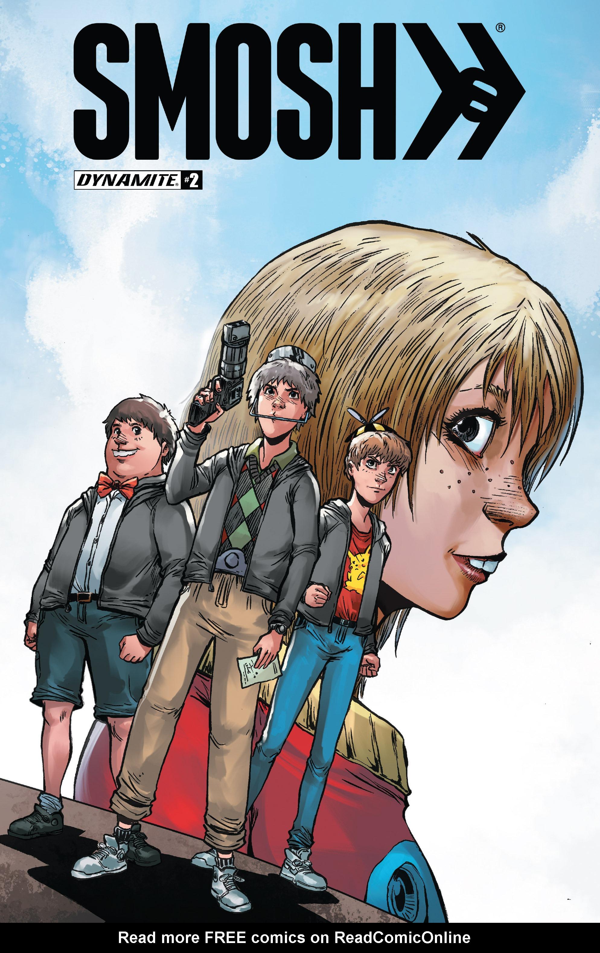Read online Smosh comic -  Issue #2 - 1