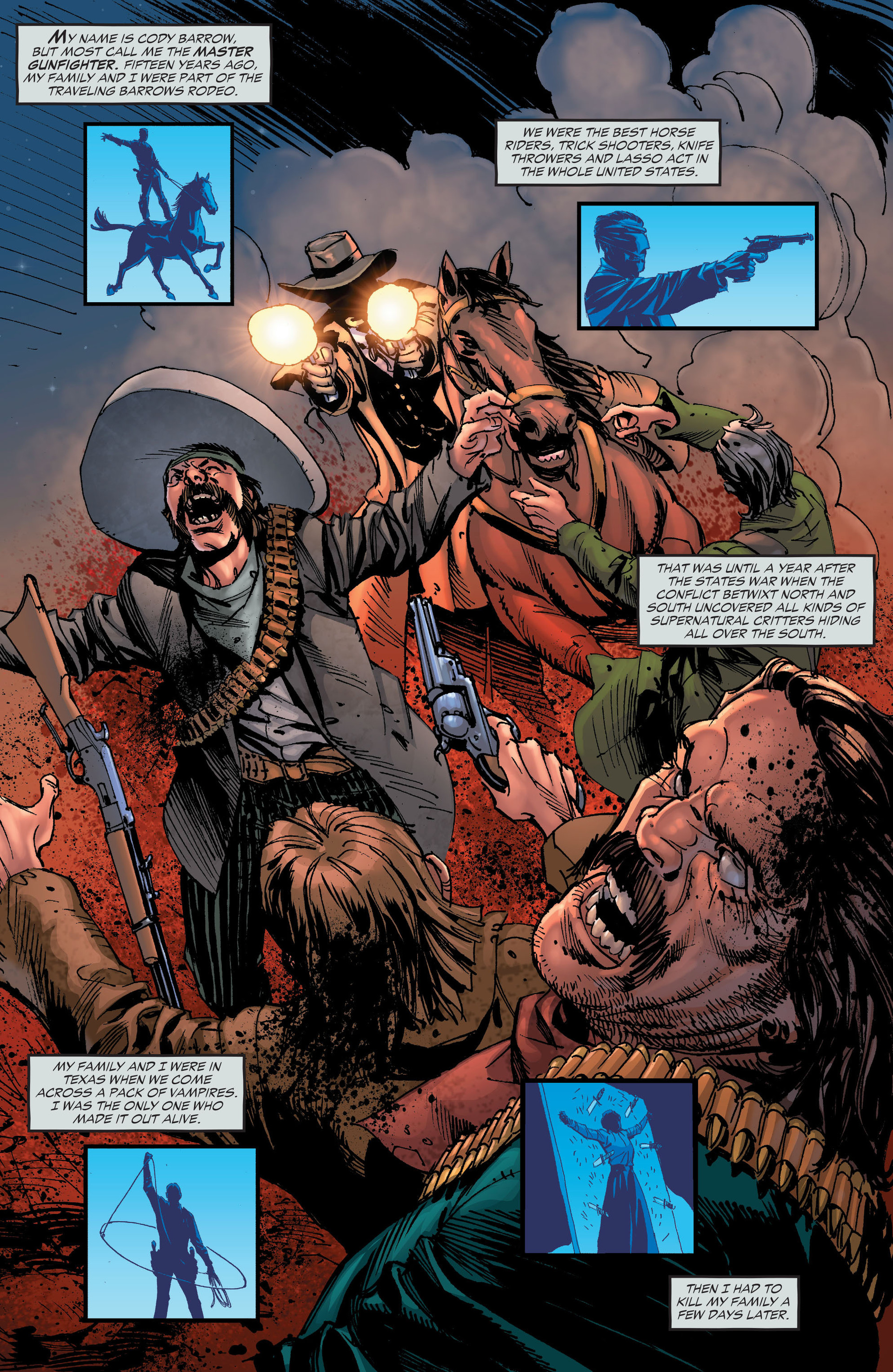 Read online All-Star Western (2011) comic -  Issue #19 - 24