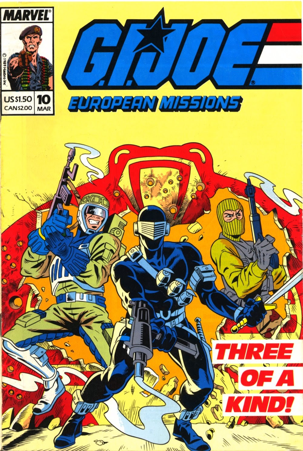 G.I. Joe European Missions issue 10 - Page 1
