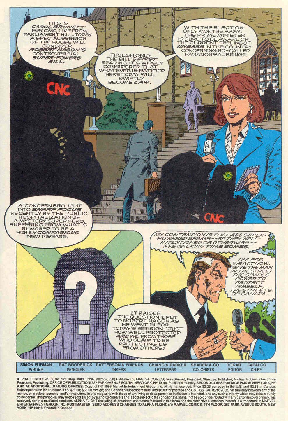 Alpha Flight (1983) 120 Page 2