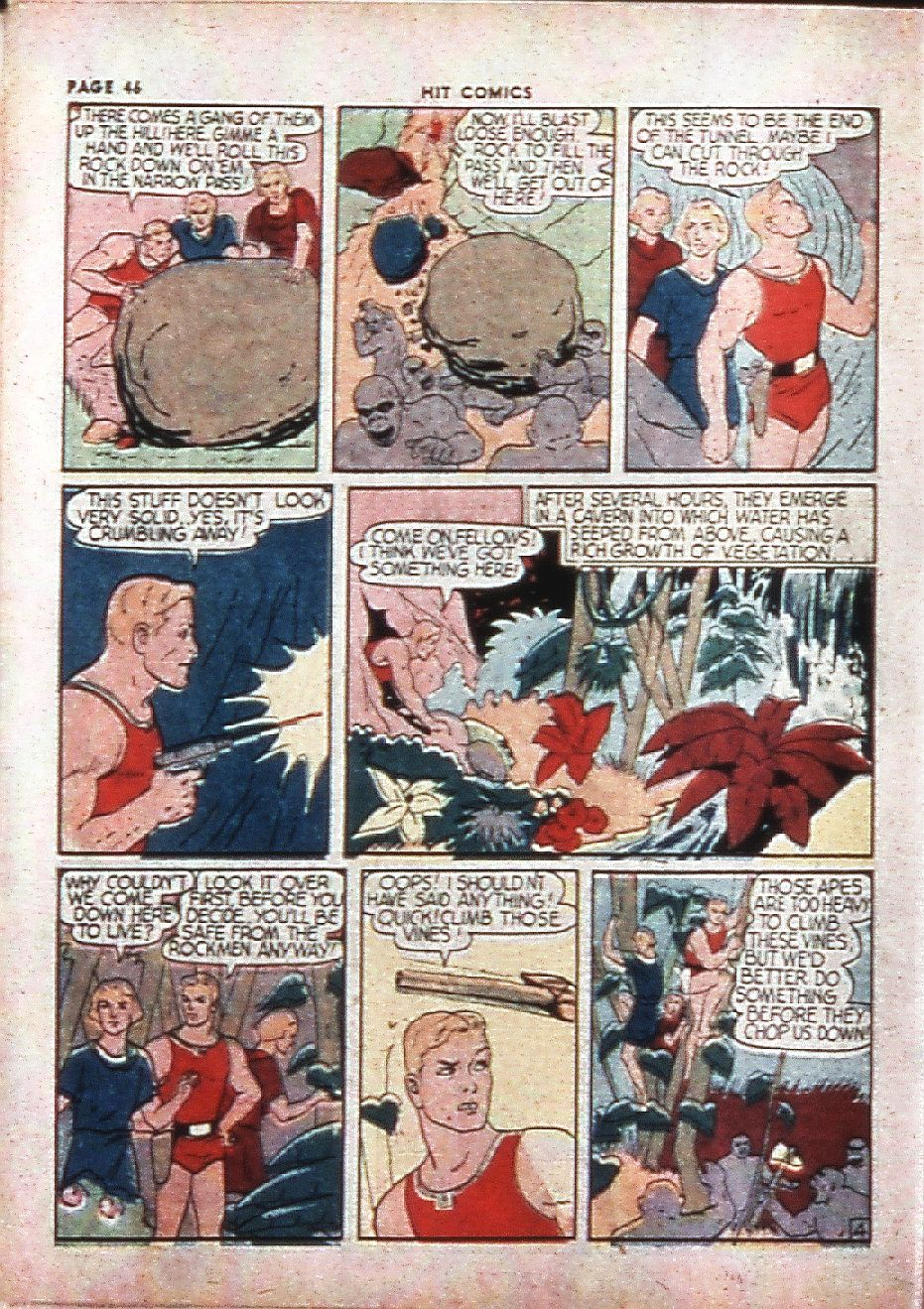 Read online Hit Comics comic -  Issue #4 - 48