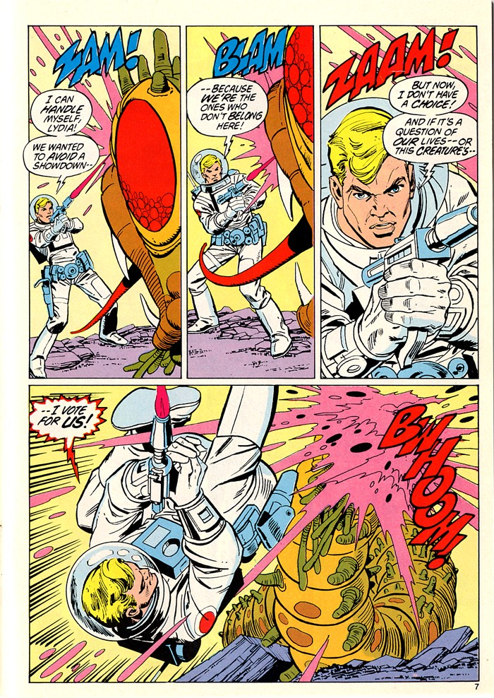 Read online Atari Force (1982) comic -  Issue #5 - 9