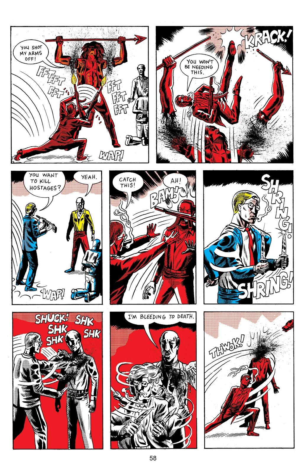 Read online Terror Assaulter: O.M.W.O.T (One Man War On Terror) comic -  Issue # TPB - 58