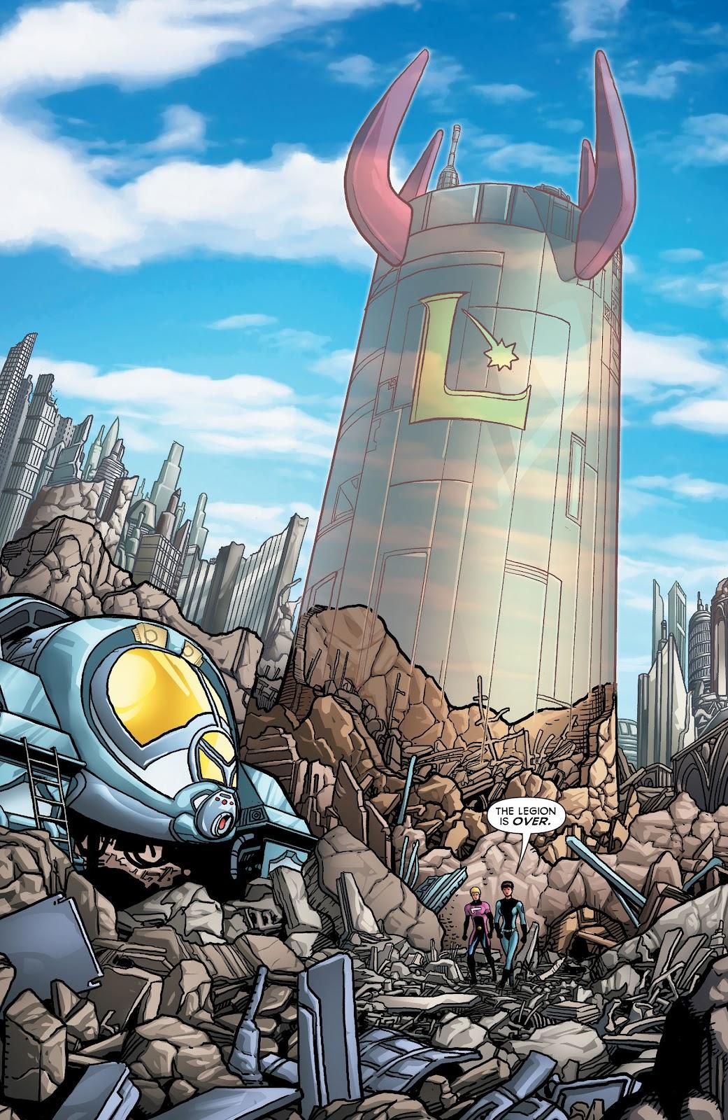 Legion of Super-Heroes (2011) Issue #23 #24 - English 14
