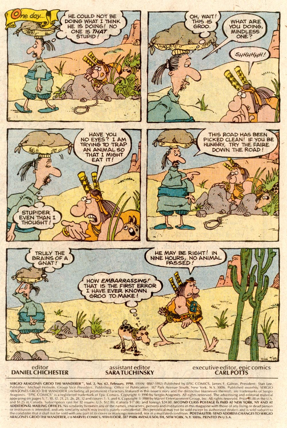 Read online Sergio Aragonés Groo the Wanderer comic -  Issue #62 - 2