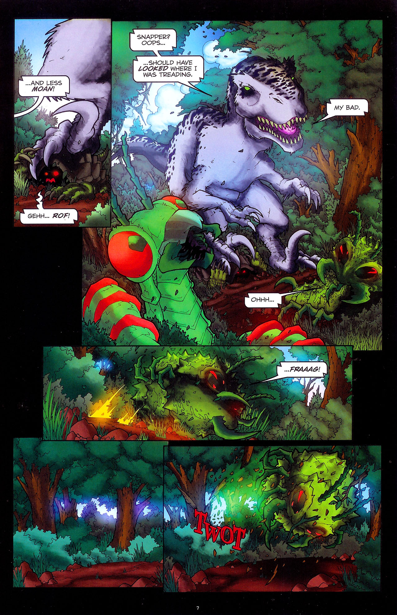 Read online Transformers: Beast Wars: The Ascending comic -  Issue #1 - 9