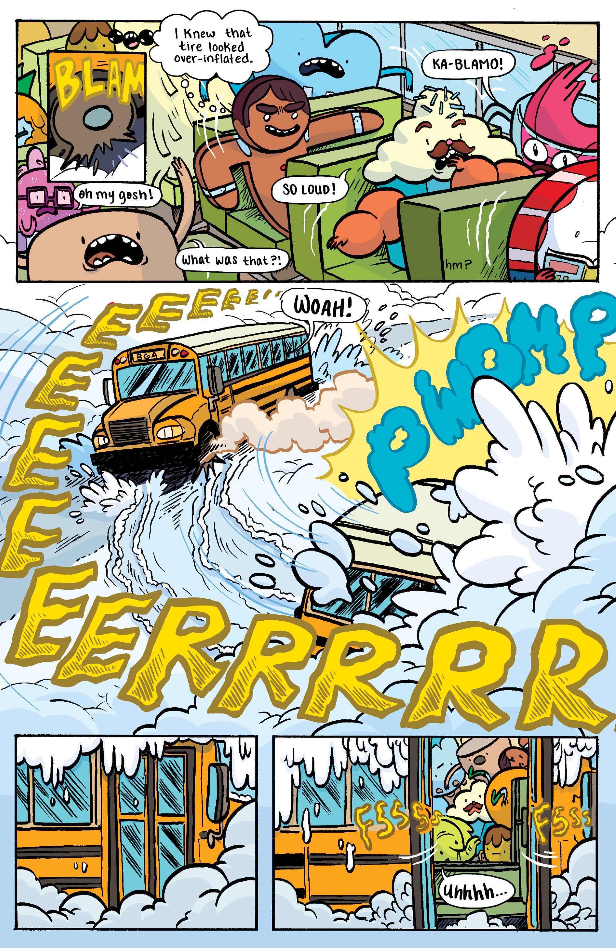 Read online Adventure Time: Banana Guard Academ comic -  Issue #3 - 7