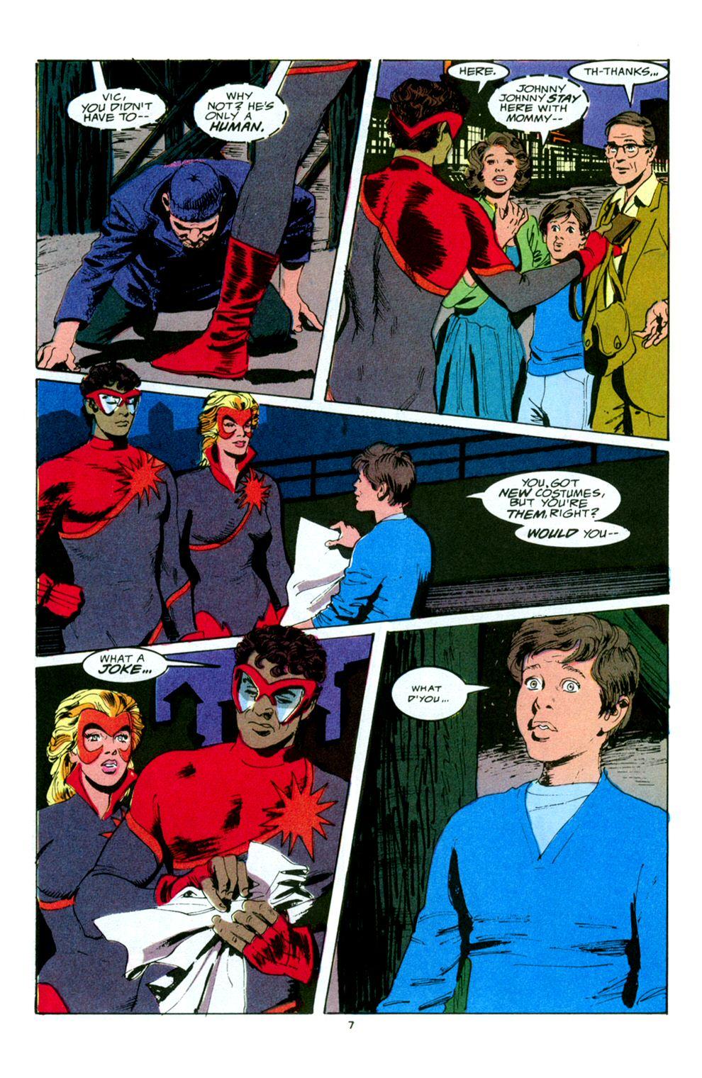 Read online Powerline comic -  Issue #5 - 9