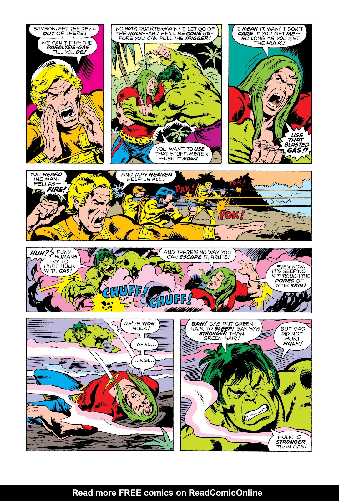 Read online Marvel Masterworks: The Incredible Hulk comic -  Issue # TPB 12 (Part 1) - 98