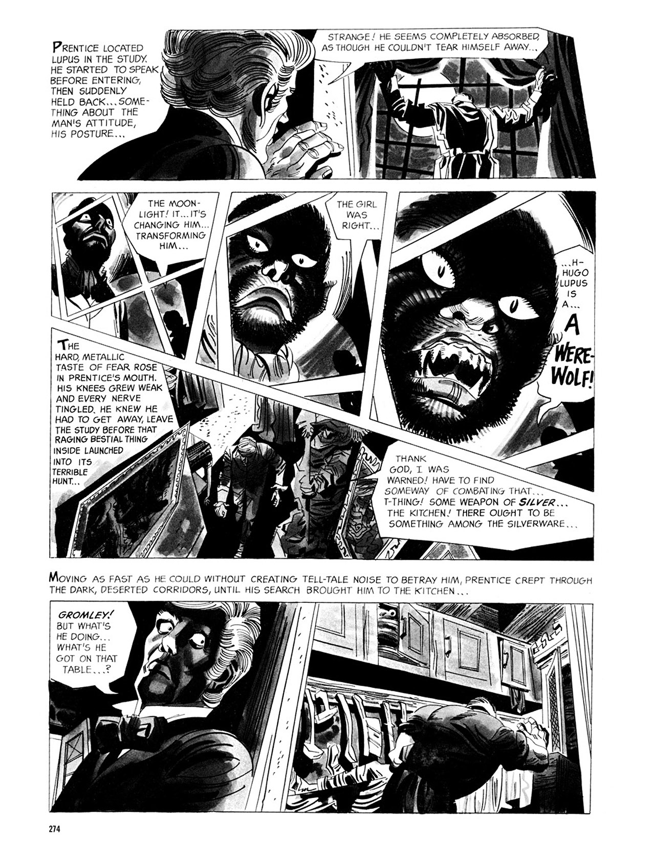 Read online Eerie Archives comic -  Issue # TPB 2 - 275