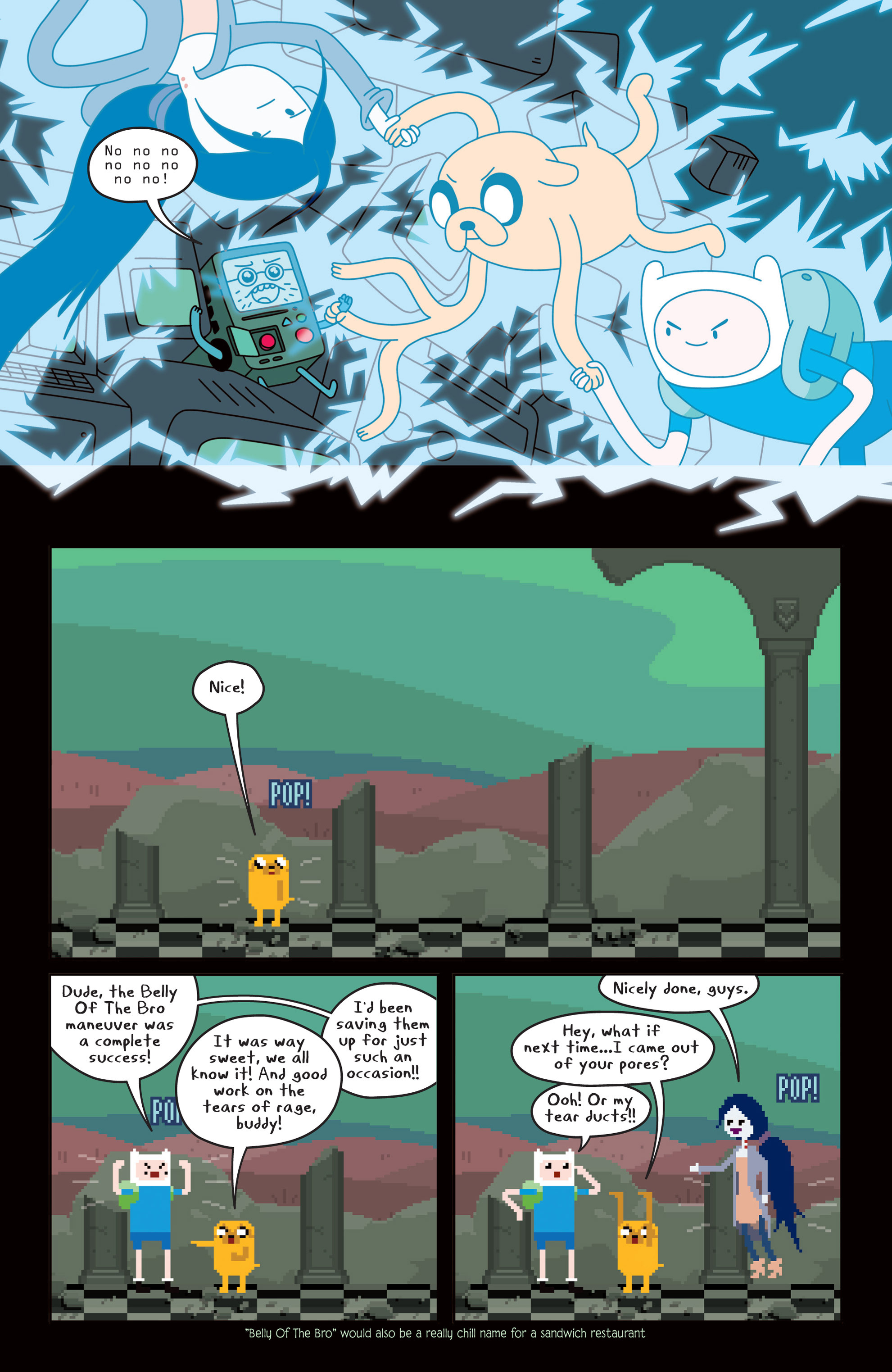 Read online Adventure Time comic -  Issue #14 - 13