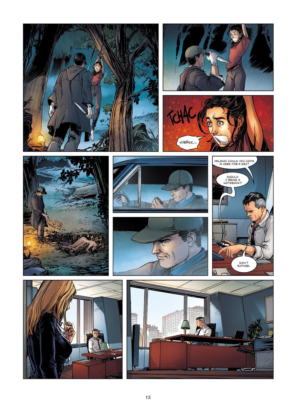 Read online Vigilantes comic -  Issue #2 - 13