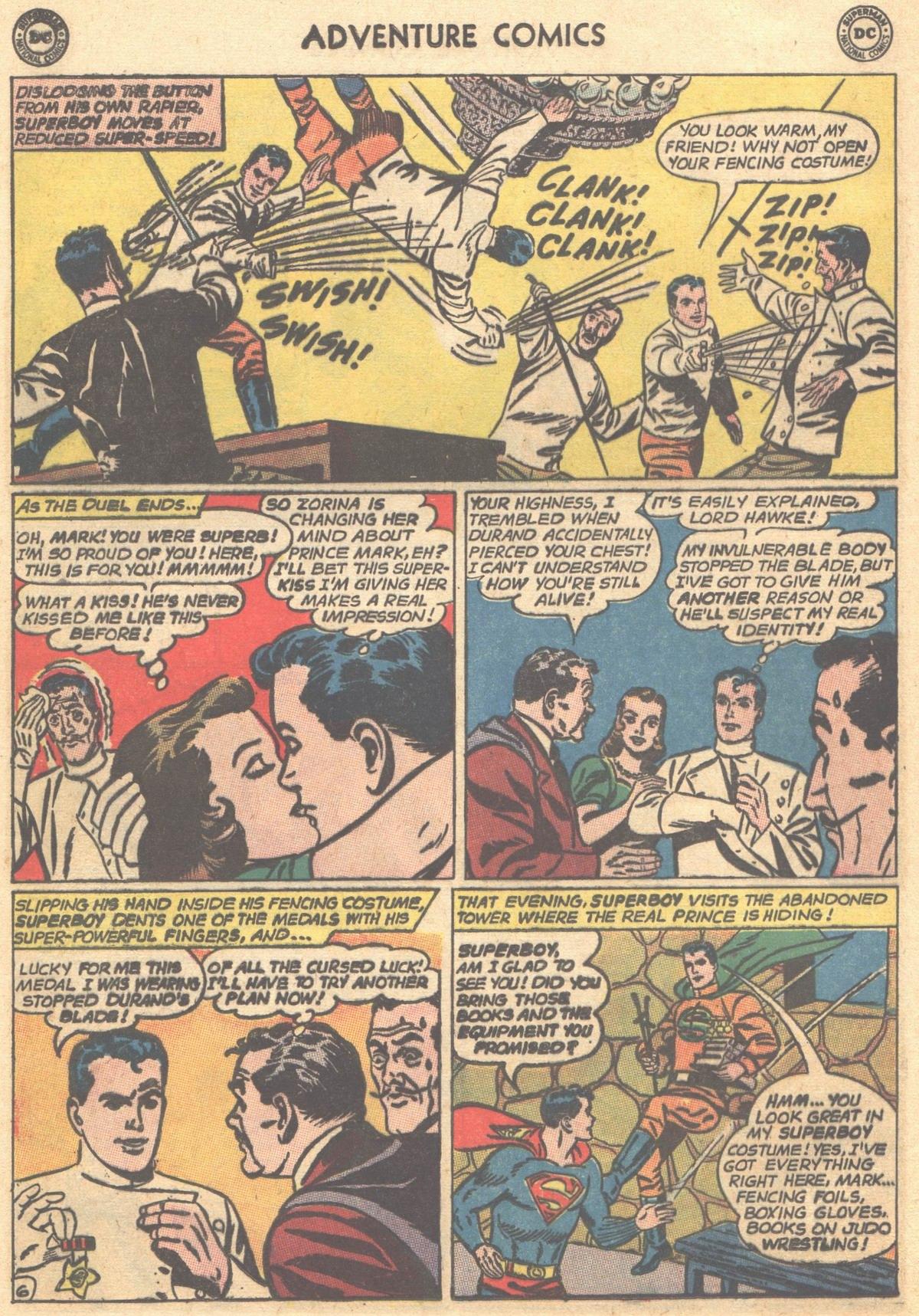 Read online Adventure Comics (1938) comic -  Issue #303 - 8
