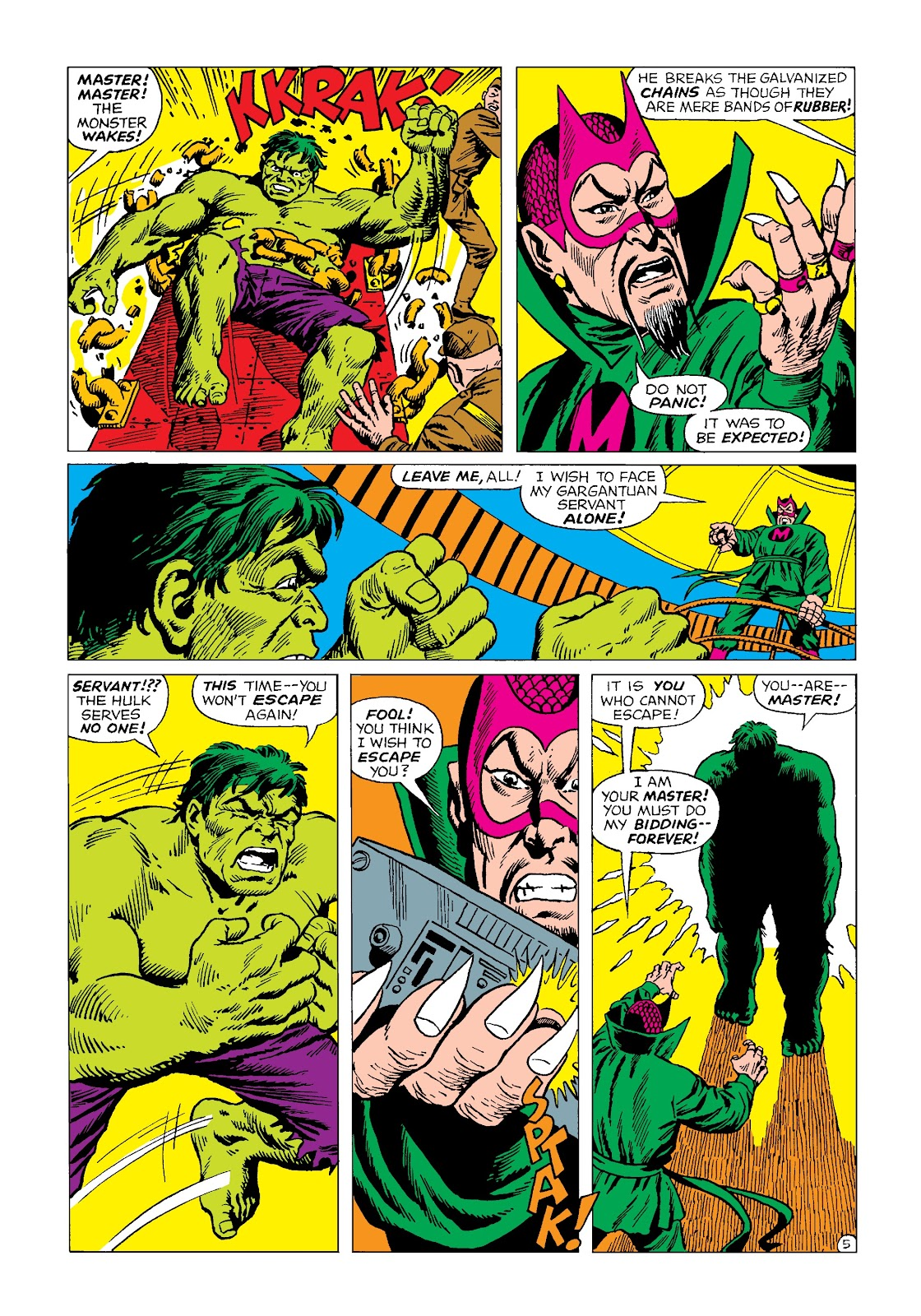 Read online Marvel Masterworks: The Incredible Hulk comic -  Issue # TPB 4 (Part 2) - 17
