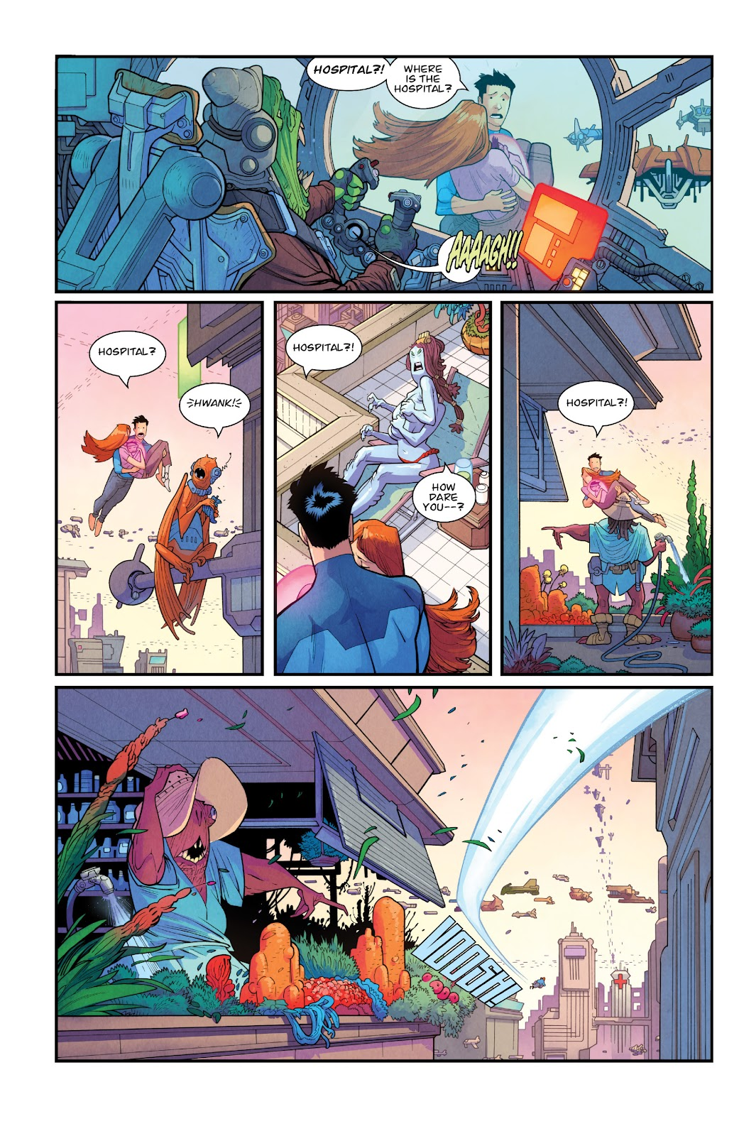 Invincible (2003) issue TPB 21 - Modern Family - Page 91