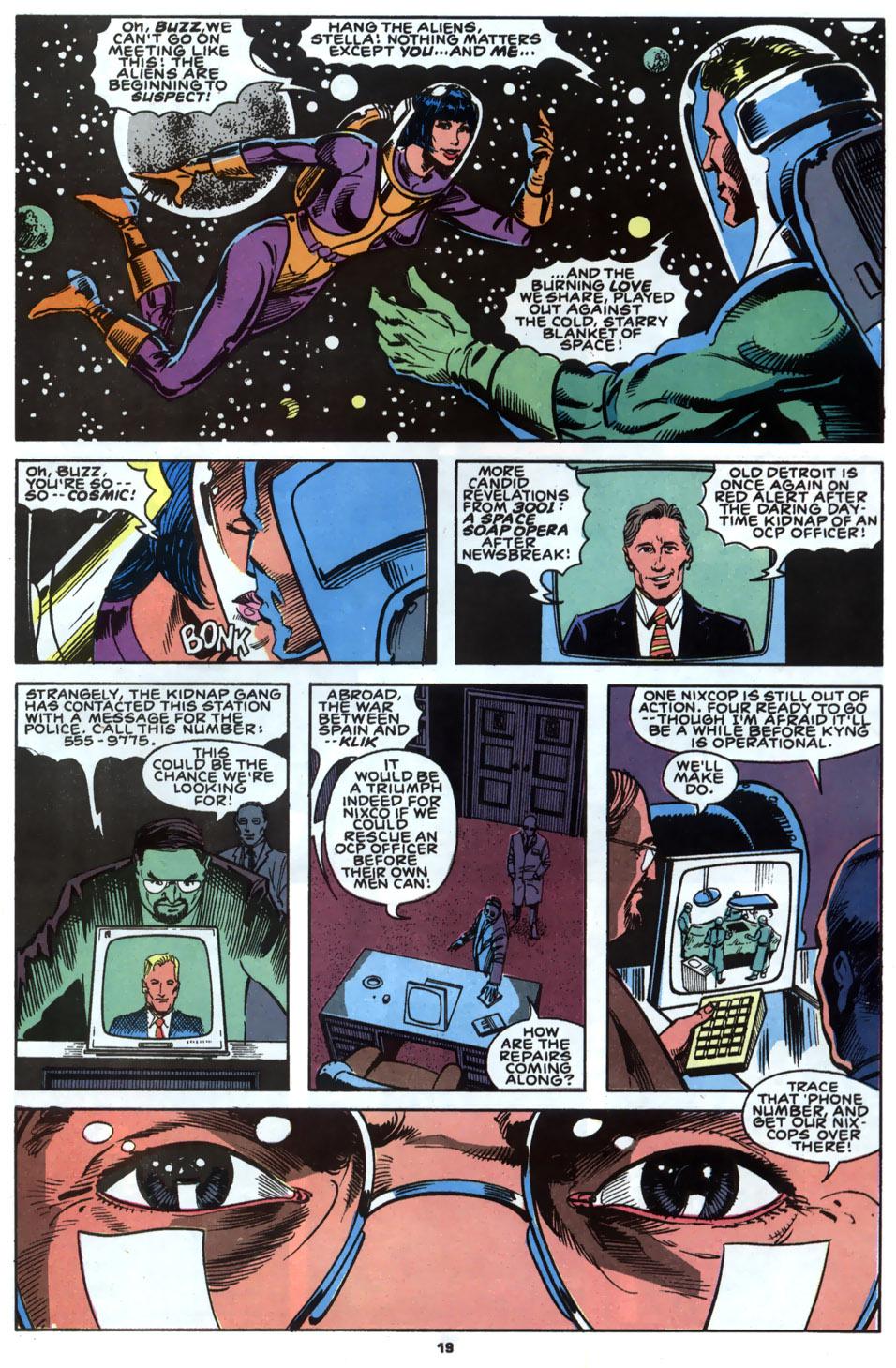 Read online Robocop (1990) comic -  Issue #2 - 15