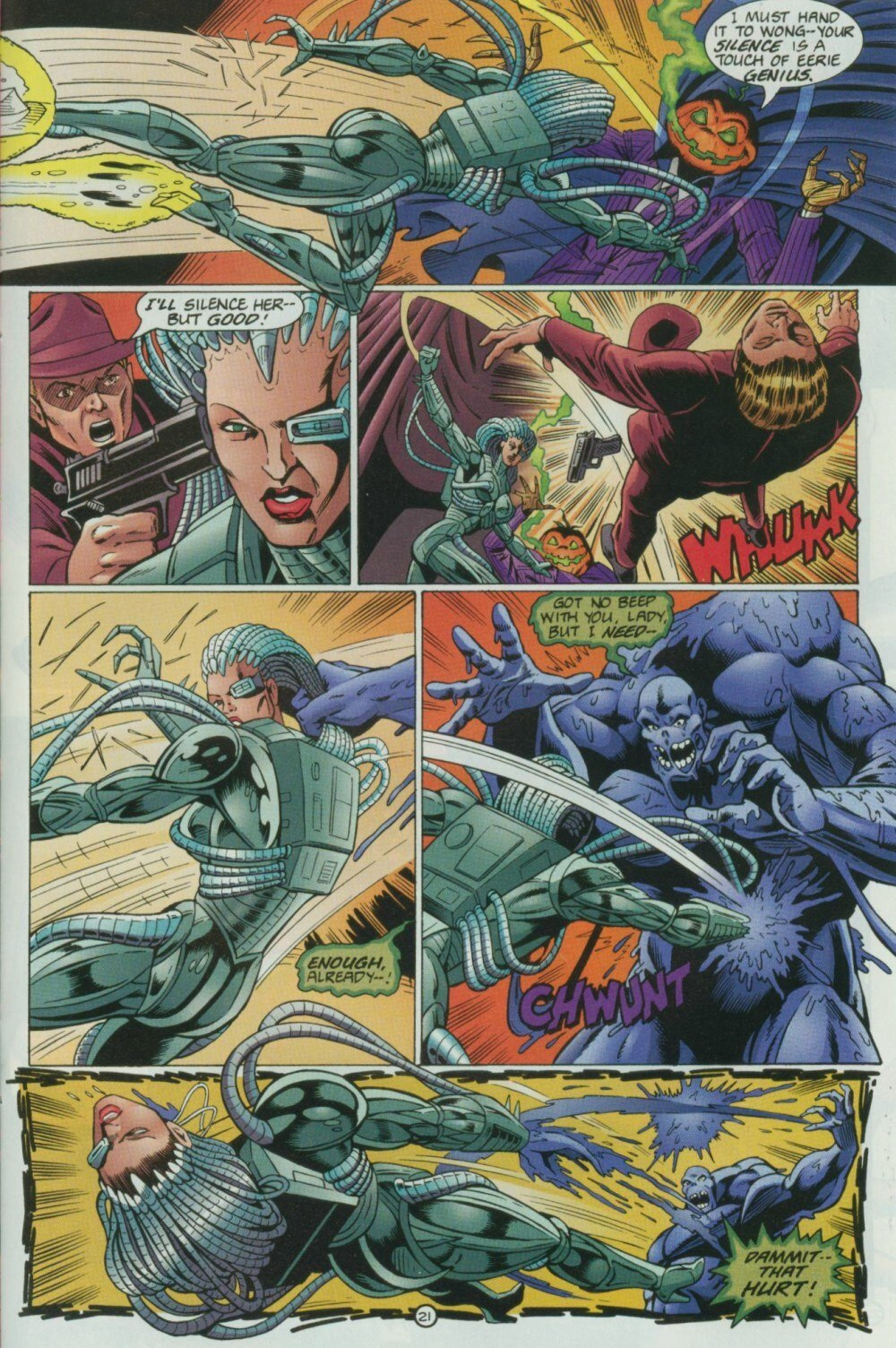 Read online Sludge comic -  Issue #9 - 25