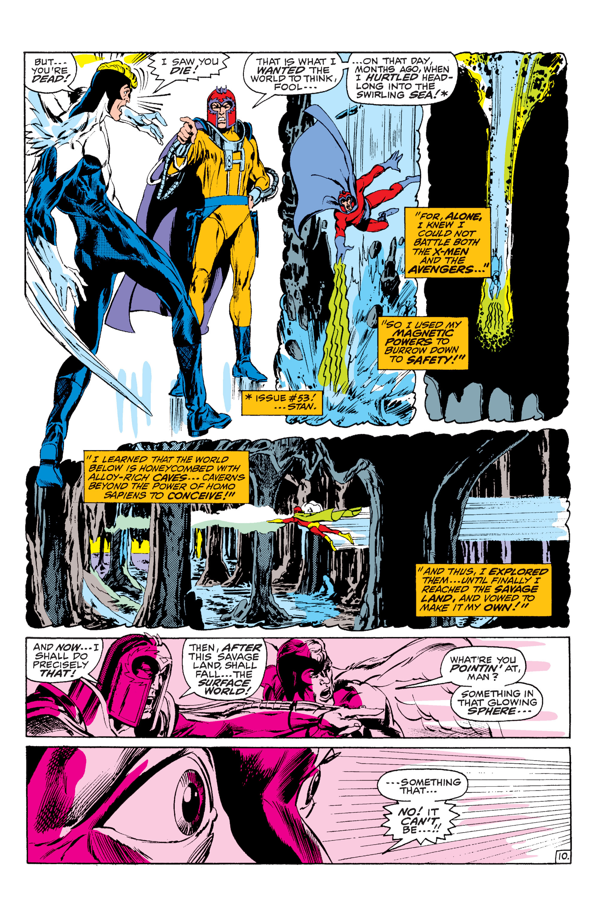 Read online Uncanny X-Men (1963) comic -  Issue #63 - 11