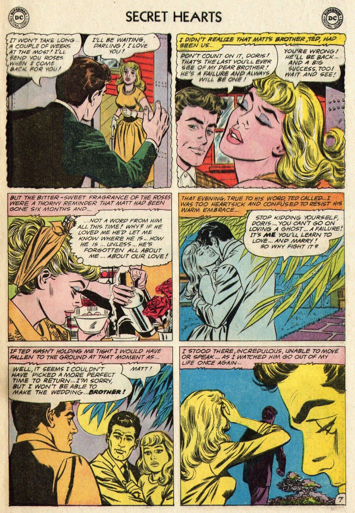Read online Secret Hearts comic -  Issue #95 - 33