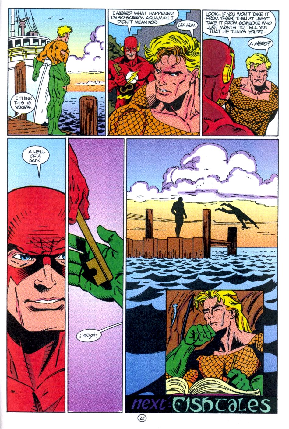 Read online Aquaman: Time and Tide comic -  Issue #1 - 23