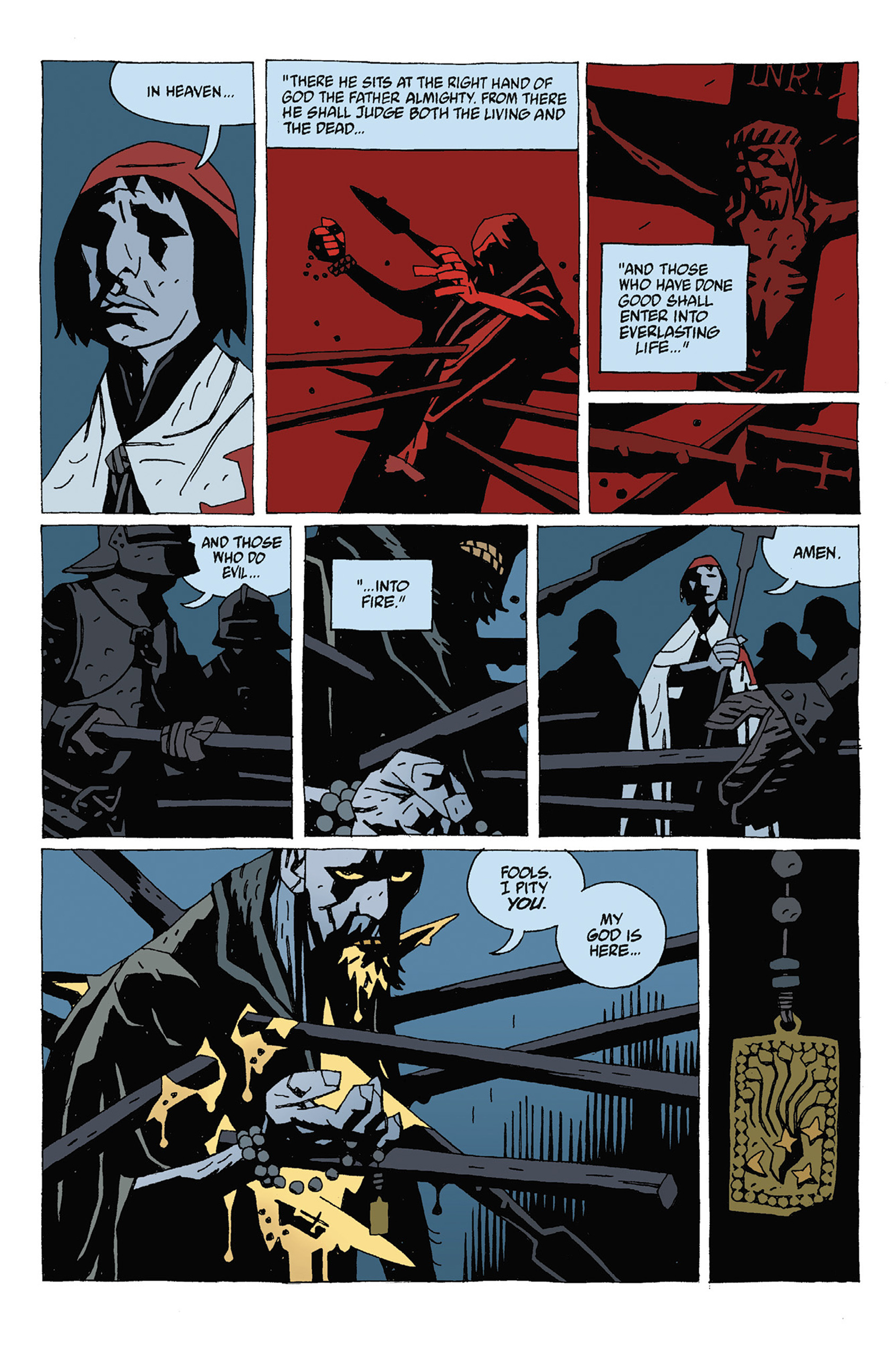 Read online Hellboy: Strange Places comic -  Issue # TPB - 82
