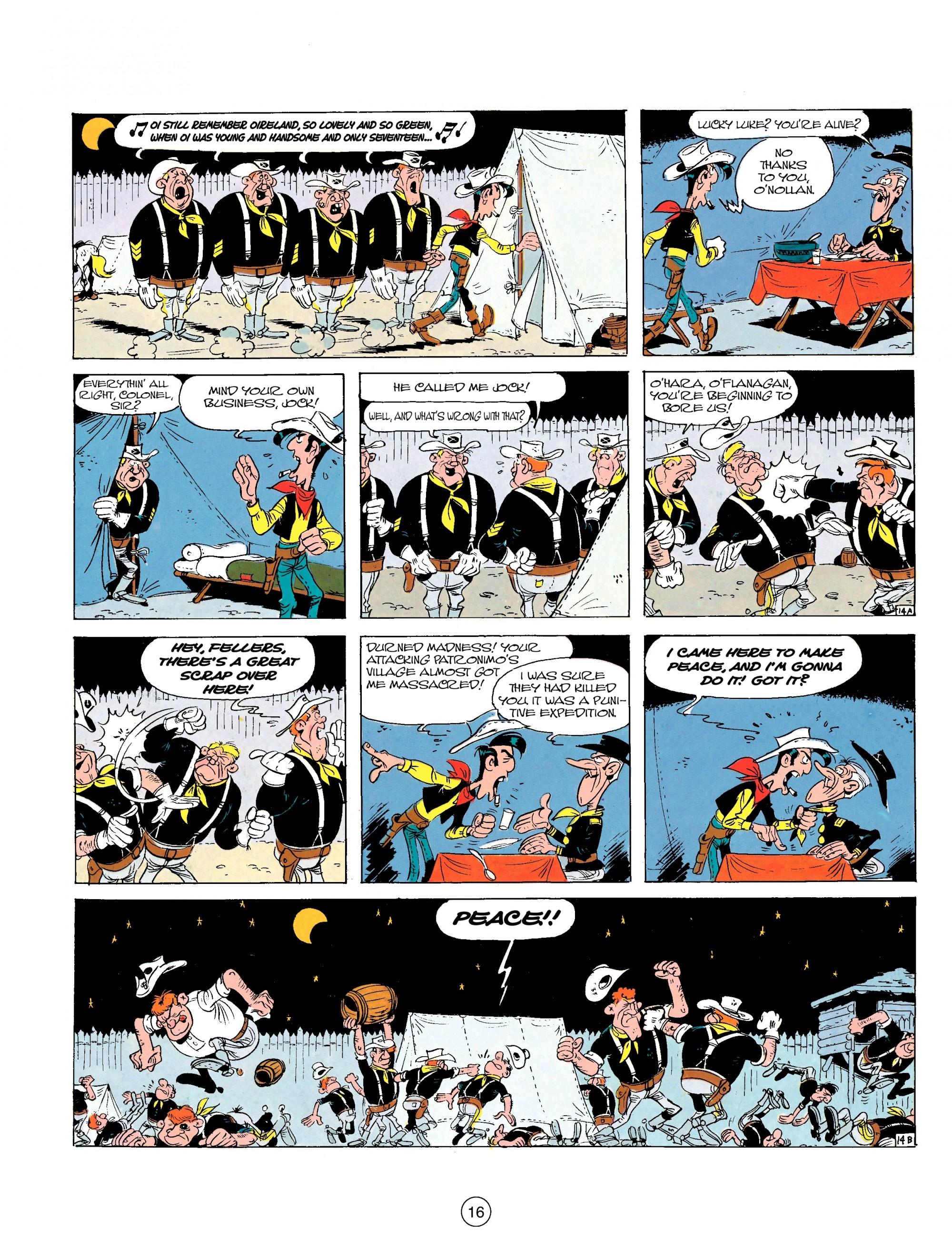 Read online A Lucky Luke Adventure comic -  Issue #17 - 16