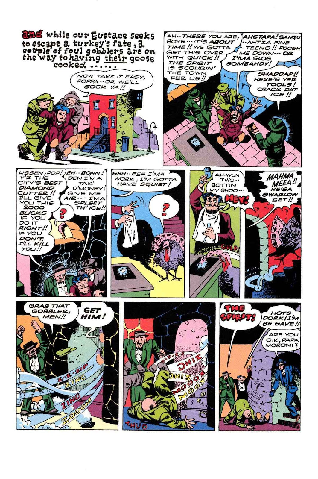 Read online Will Eisner's The Spirit Archives comic -  Issue # TPB 3 (Part 2) - 57
