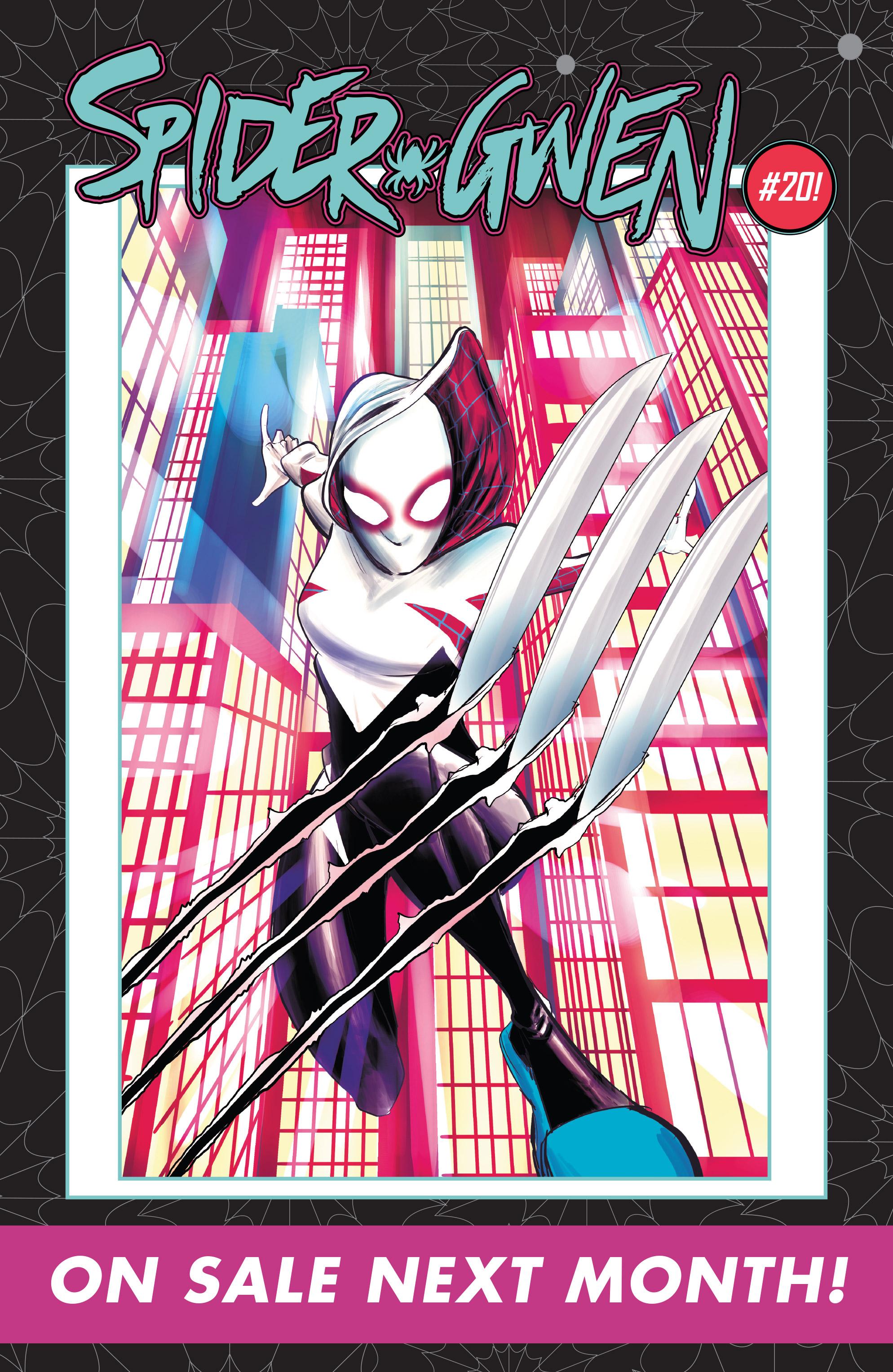 Read online Spider-Gwen [II] comic -  Issue #19 - 23