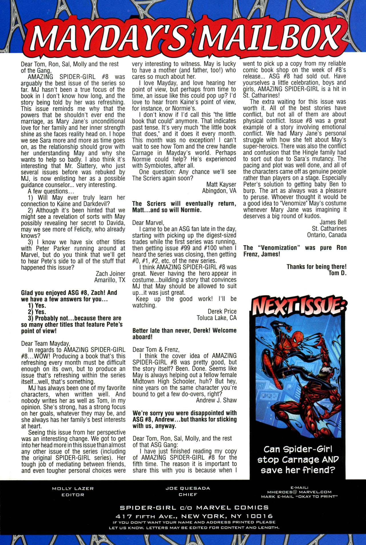 Read online Amazing Spider-Girl comic -  Issue #11 - 24