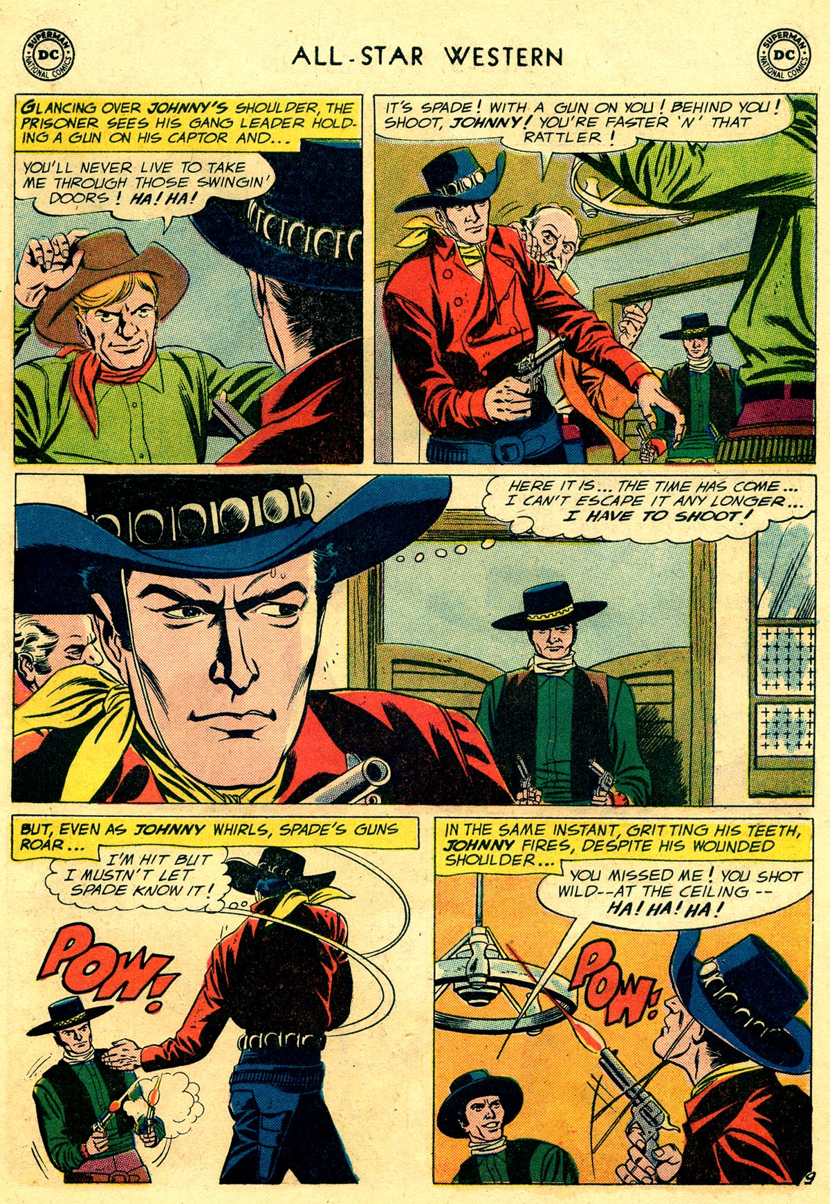 Read online All-Star Western (1951) comic -  Issue #109 - 11