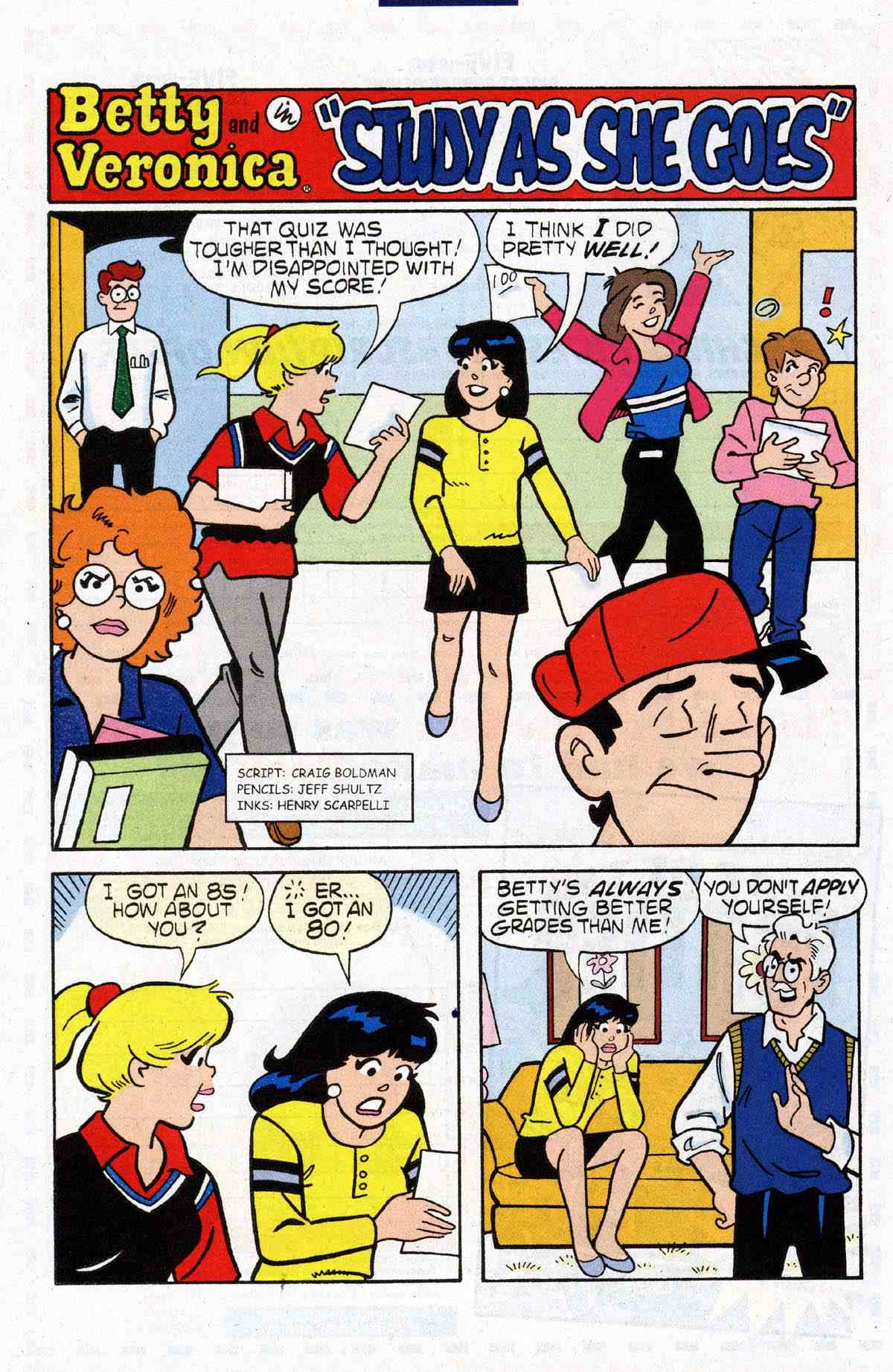 Read online Archie's Girls Betty and Veronica comic -  Issue #184 - 24