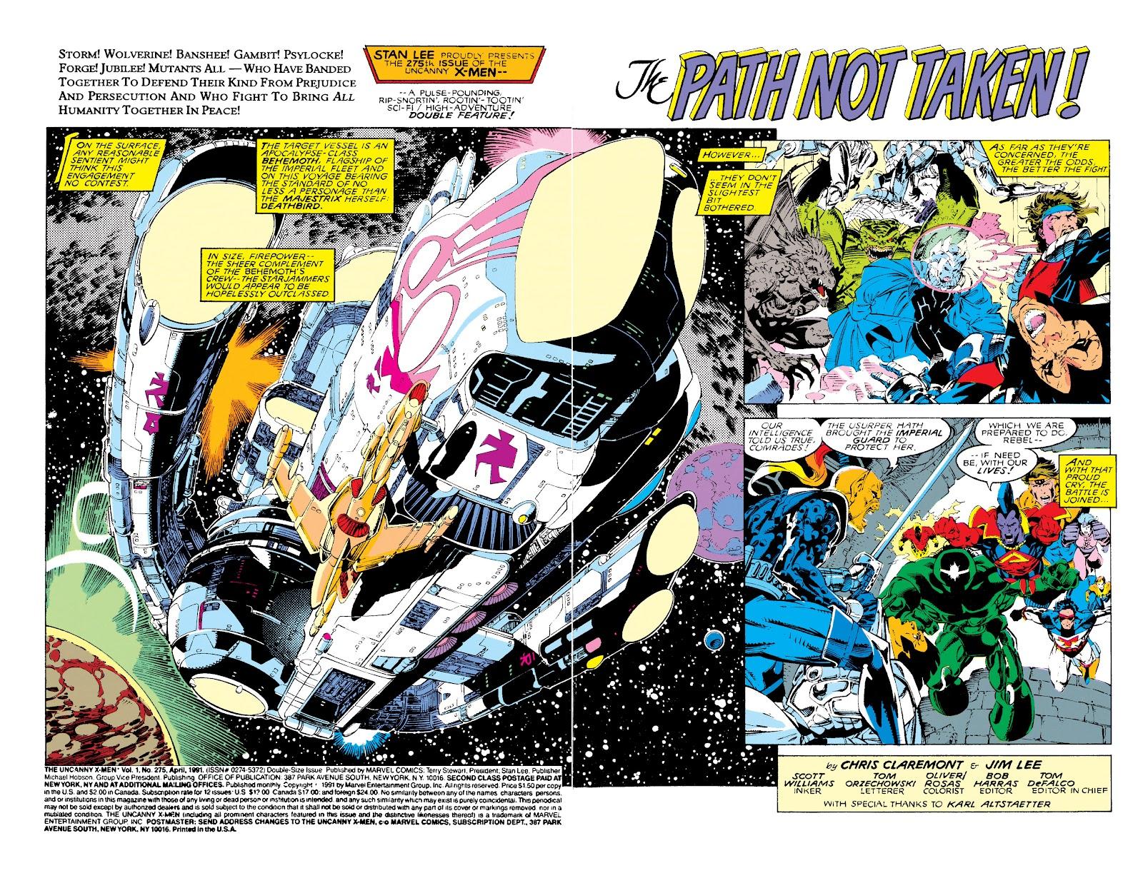 Uncanny X-Men (1963) issue 275 - Page 3