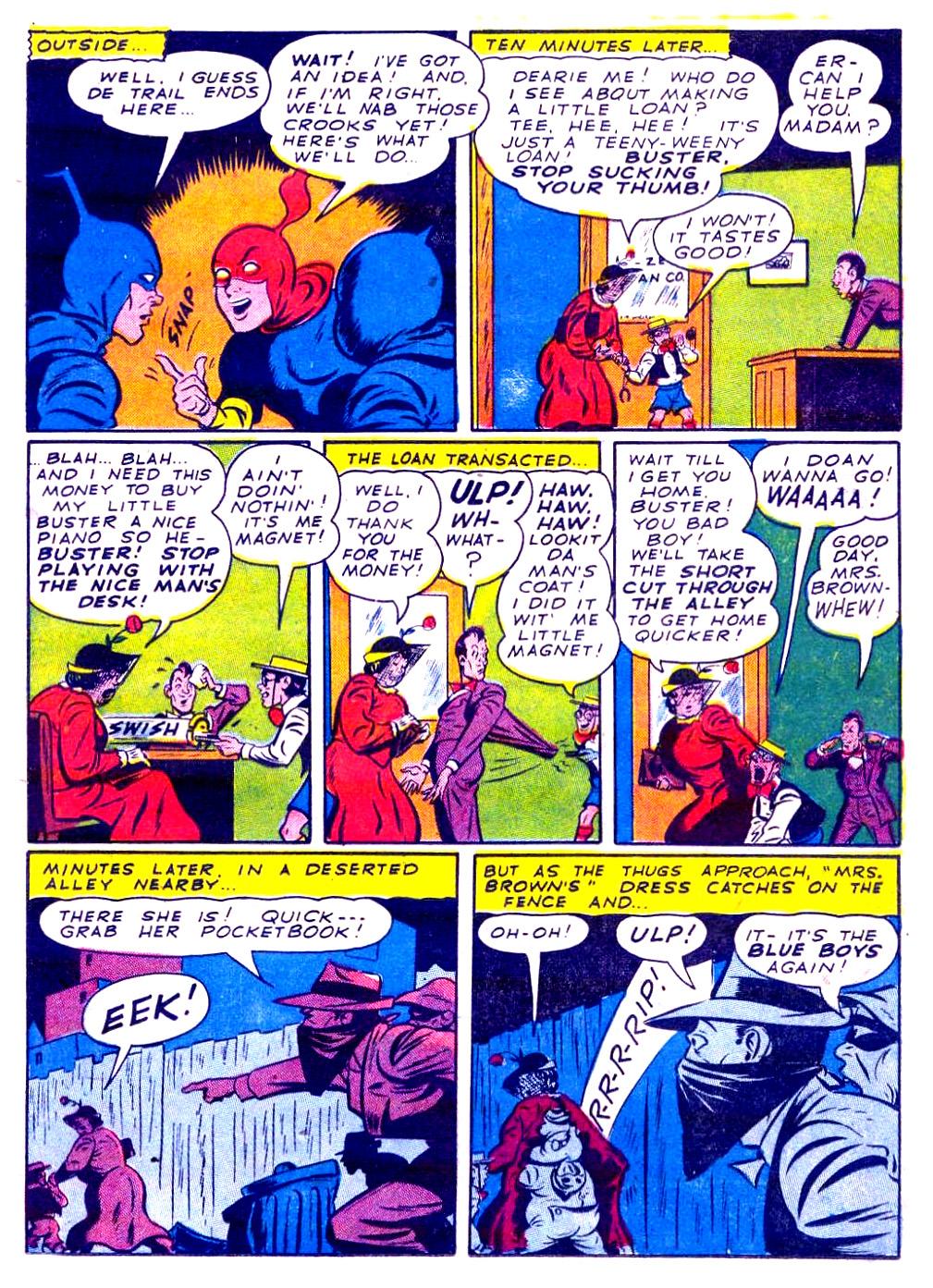 Read online Sensation (Mystery) Comics comic -  Issue #29 - 29