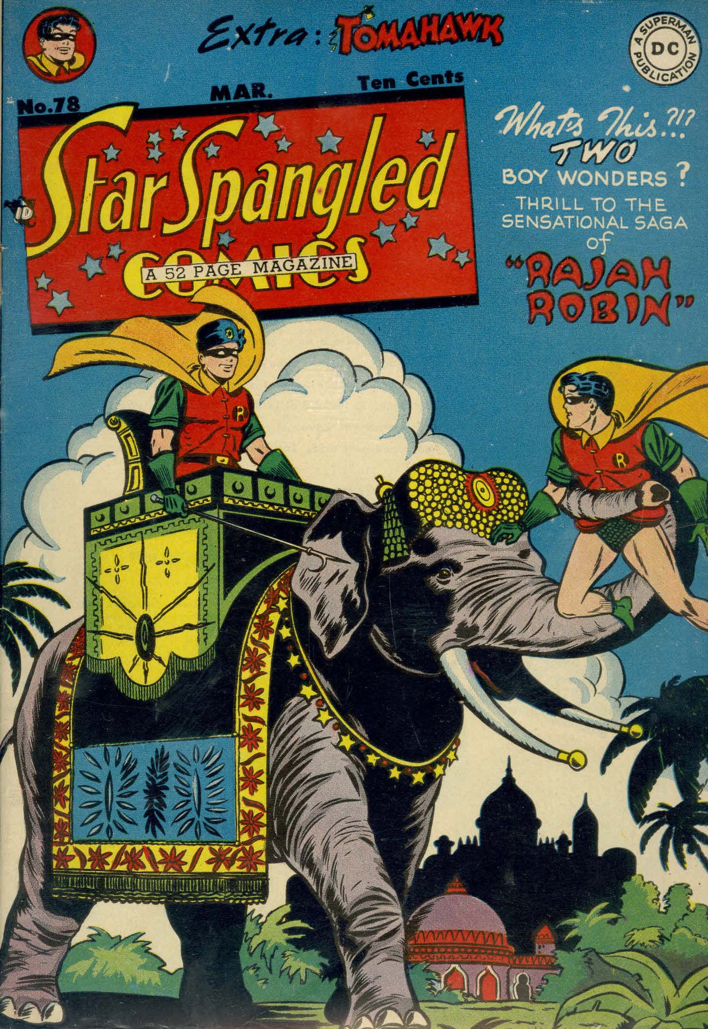 Star Spangled Comics (1941) 78 Page 1